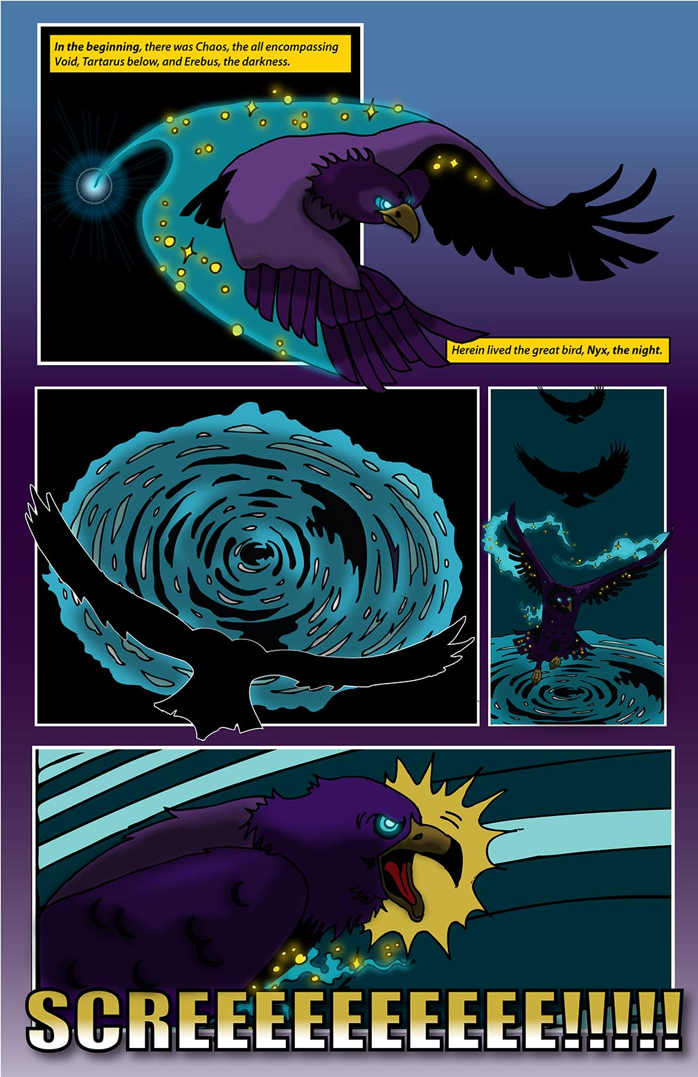 Hellenistic Mysteries 1 Page 1