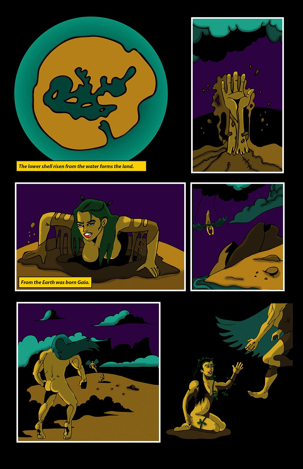 Hellenistic Mysteries #1 Page 4