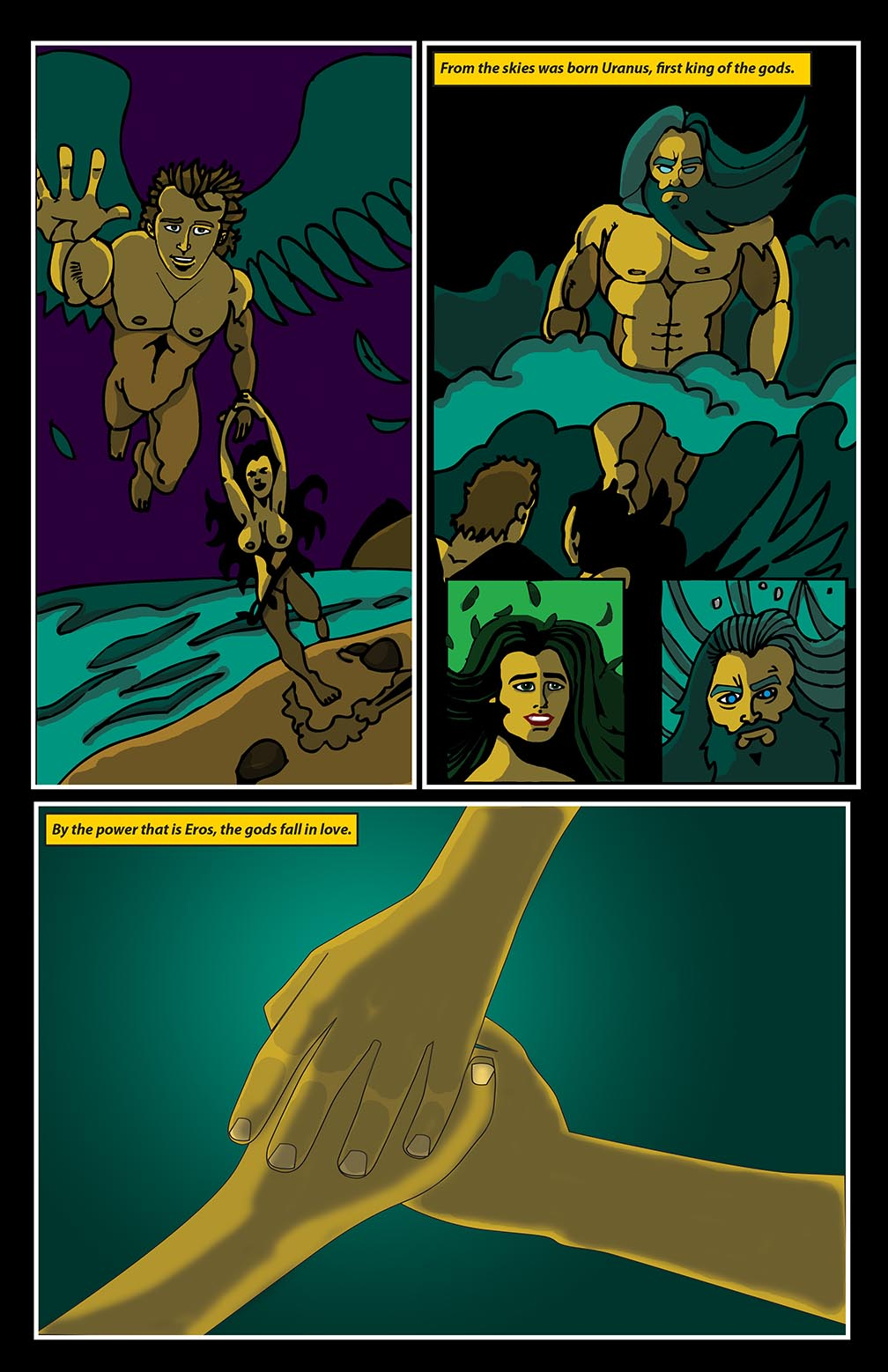 Hellenistic Mysteries #1 Page 5