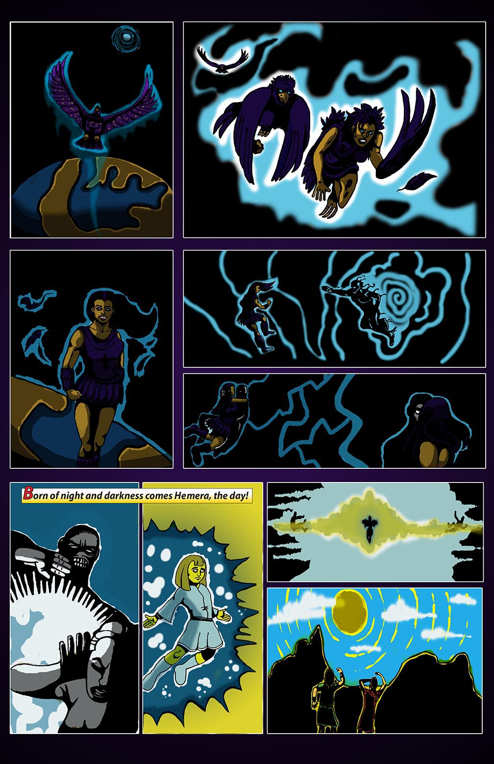 Hellenistic Mysteries #1 Page 7
