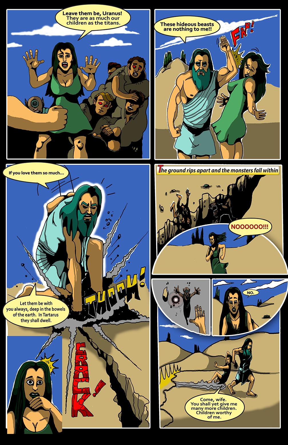 Hellenistic Mysteries #1 Page 9