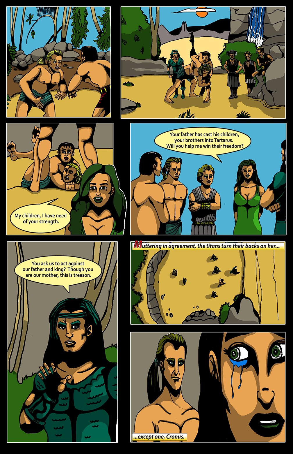 Hellenistic Mysteries #1 Page 10