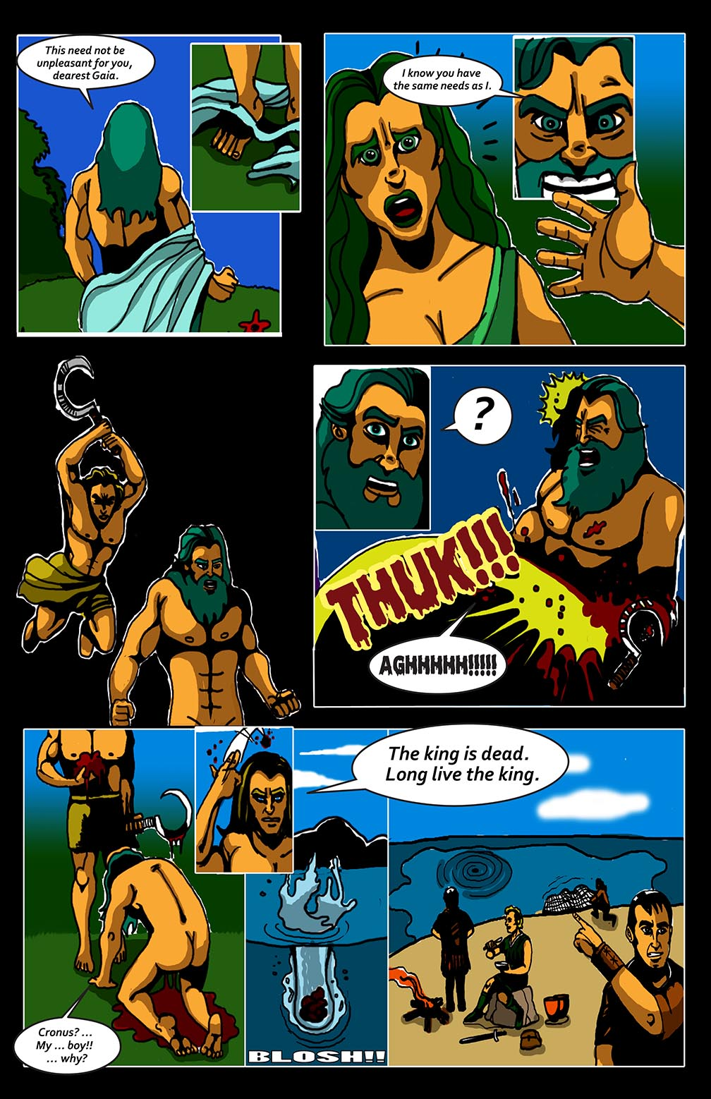 Hellenistic Mysteries #1 Page 13