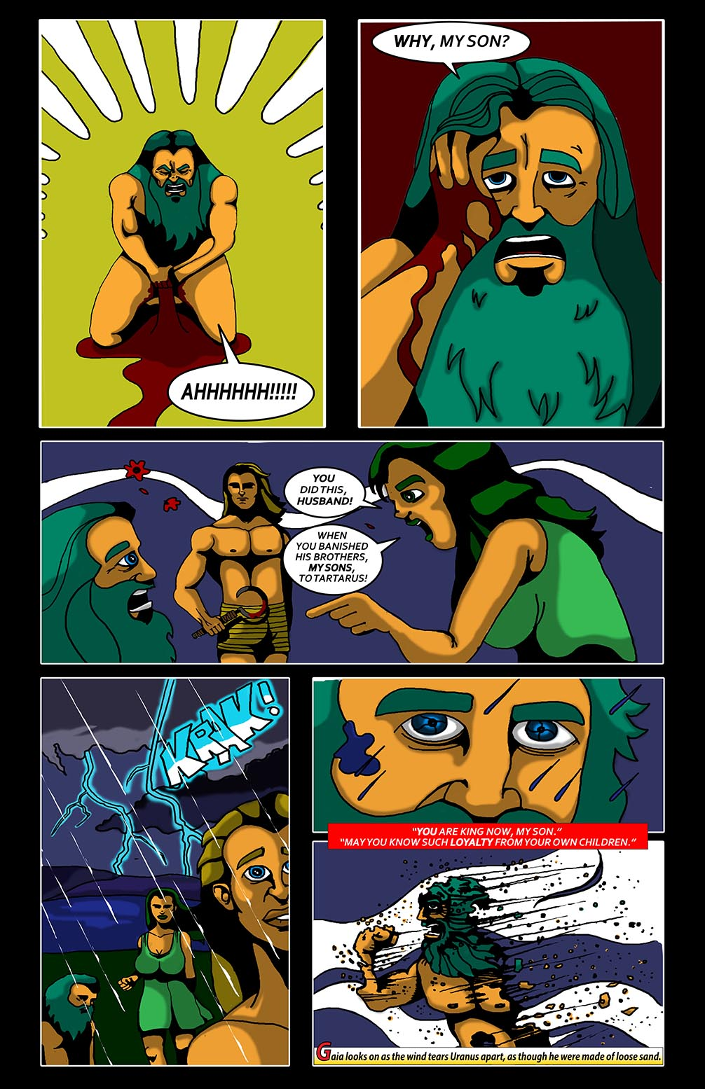 Hellenistic Mysteries #1 Page 15