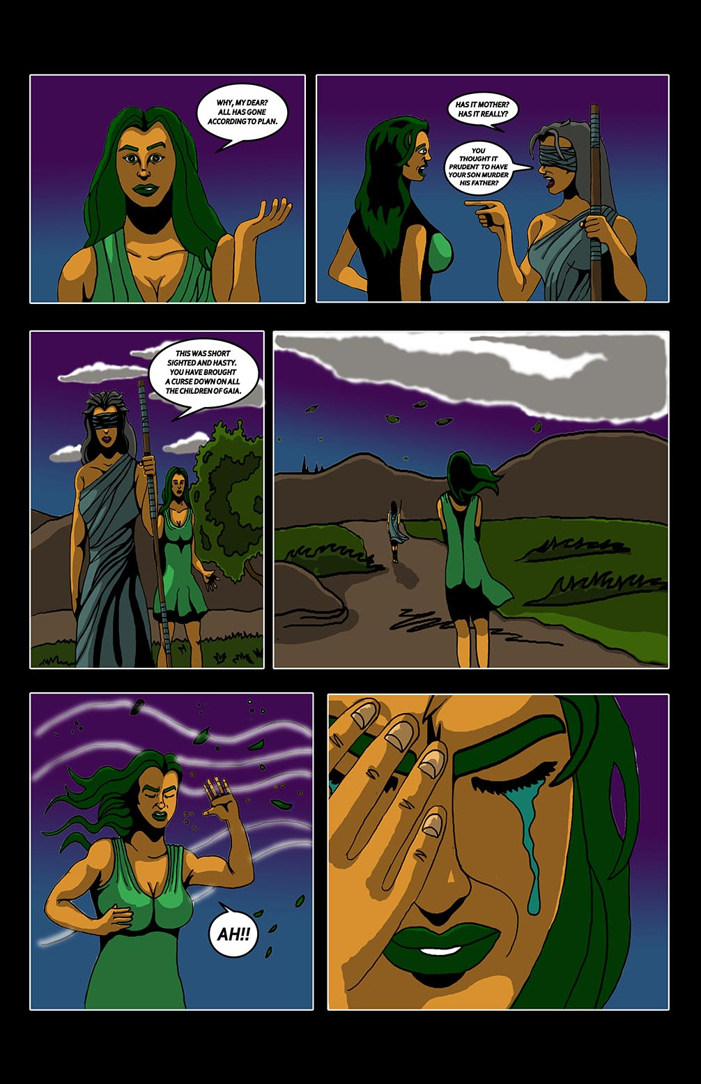 Hellenistic Mysteries #1 Page 19