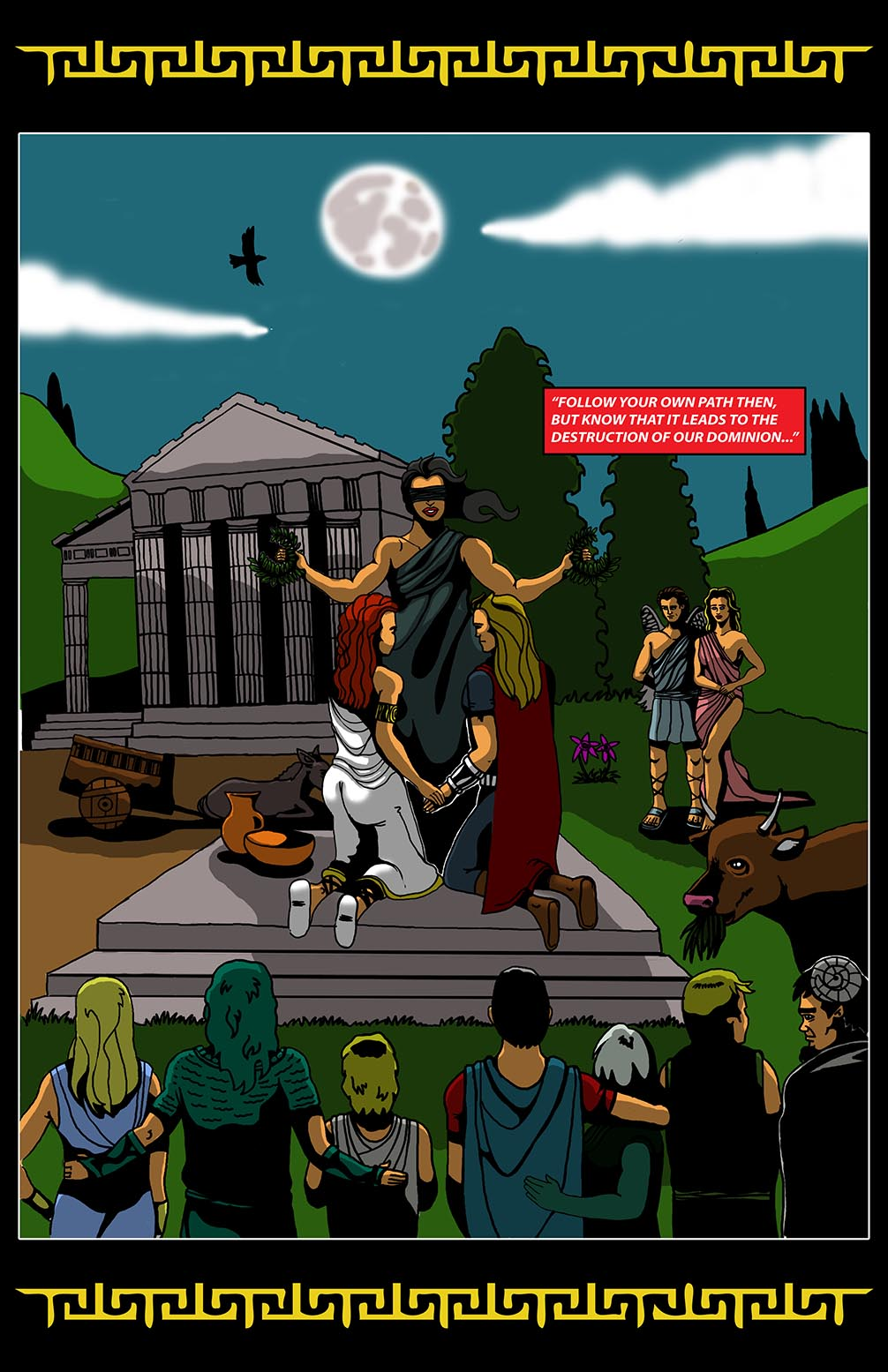 Hellenistic Mysteries #1 Page 20