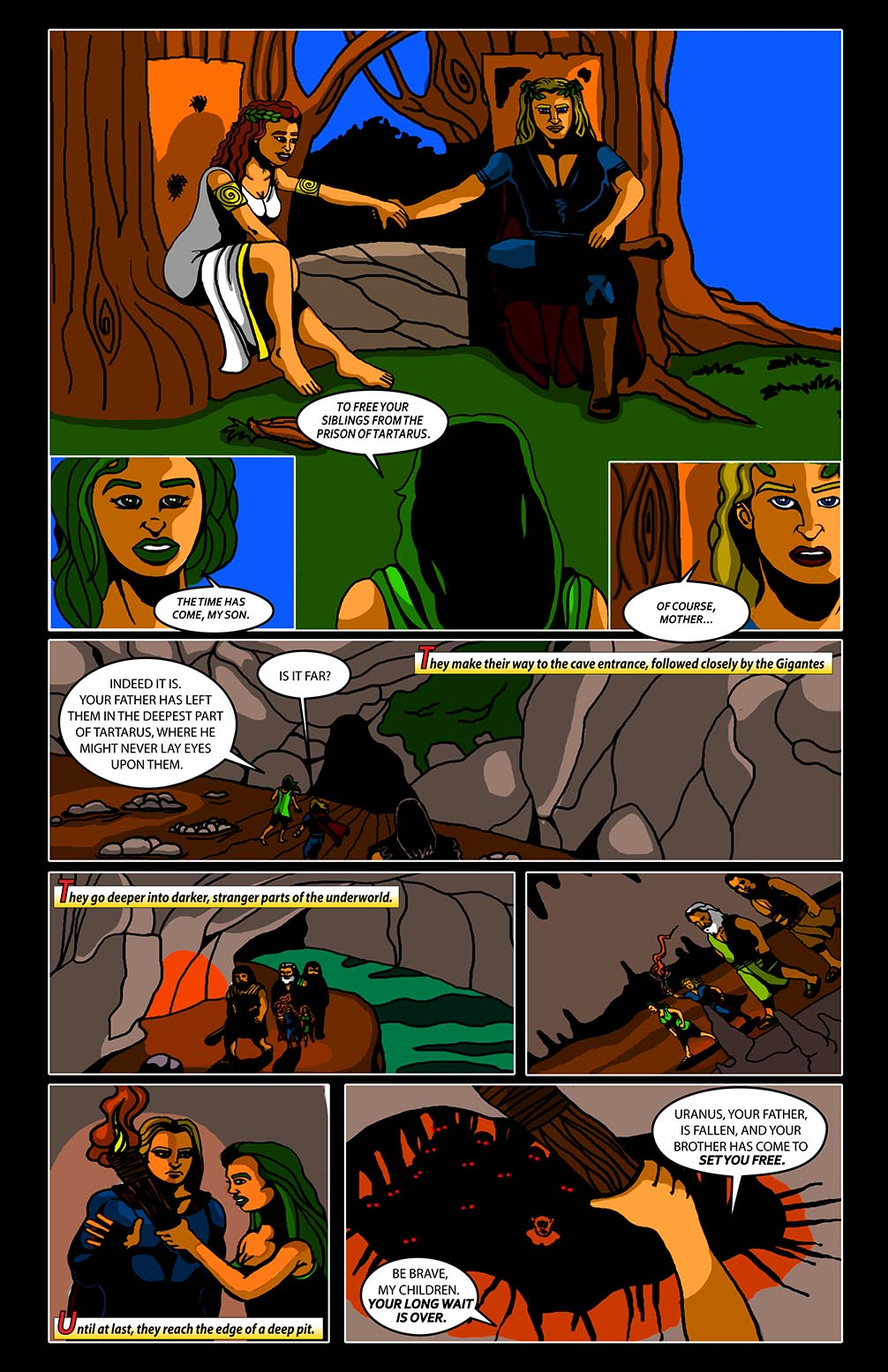 Hellenistic Mysteries #1 Page 21