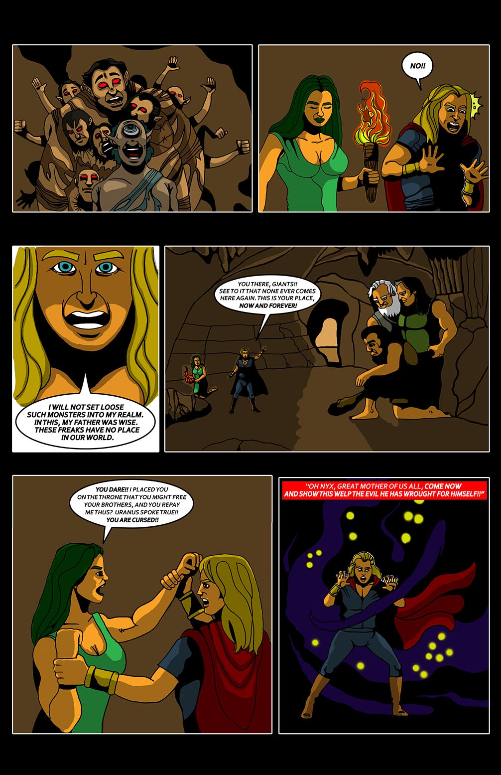 Hellenistic Mysteries #1 Page 22