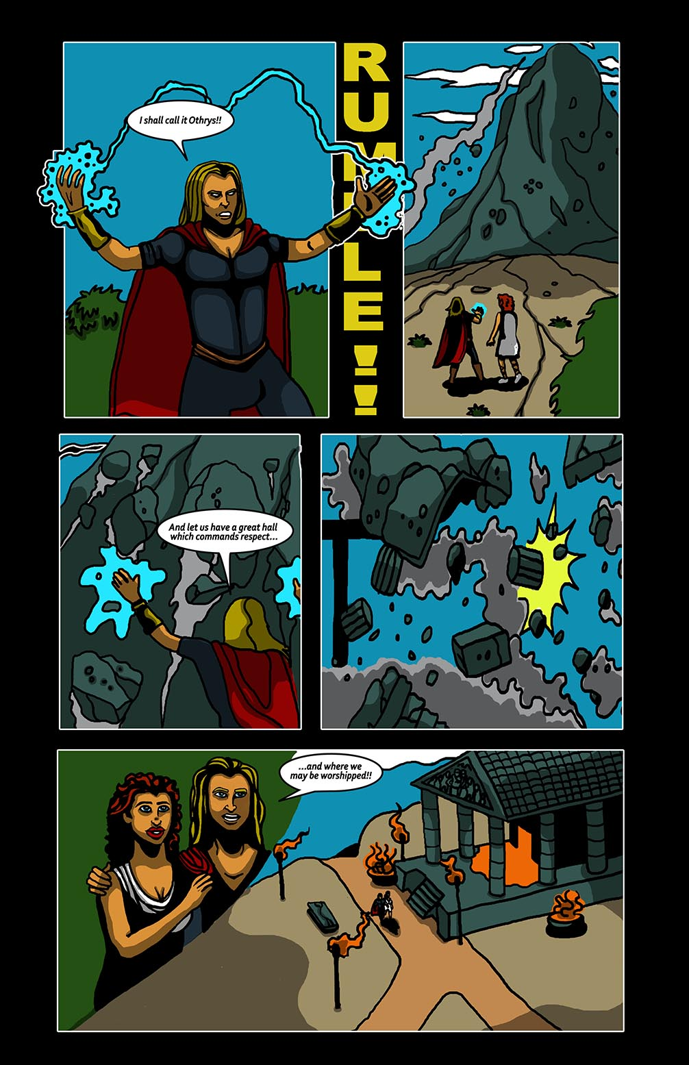 Hellenistic Mysteries #2 Page 3