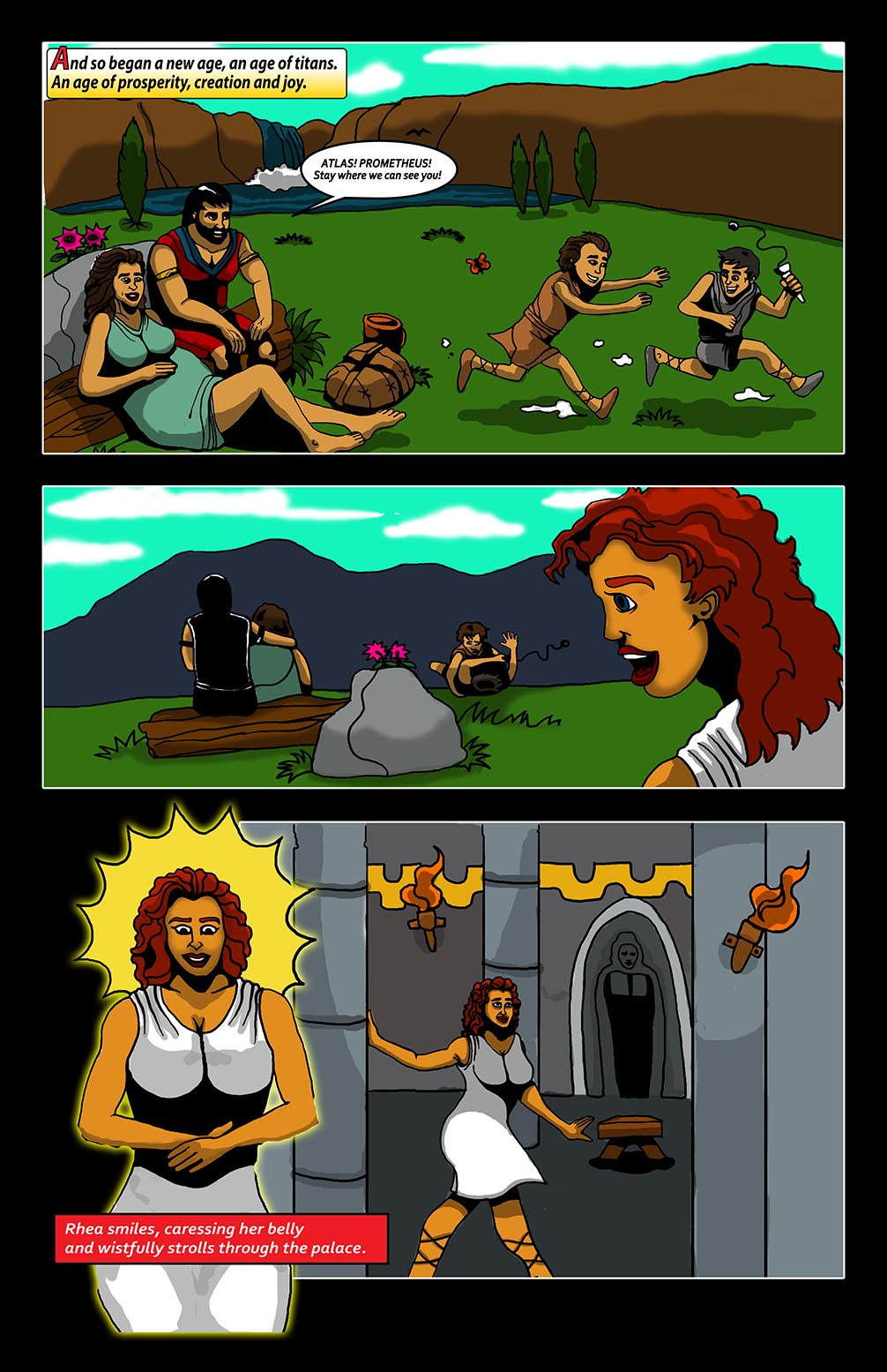 Hellenistic Mysteries #2 Page 4