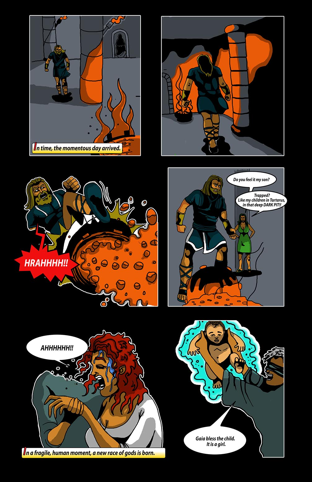 Hellenistic Mysteries #2 Page 6