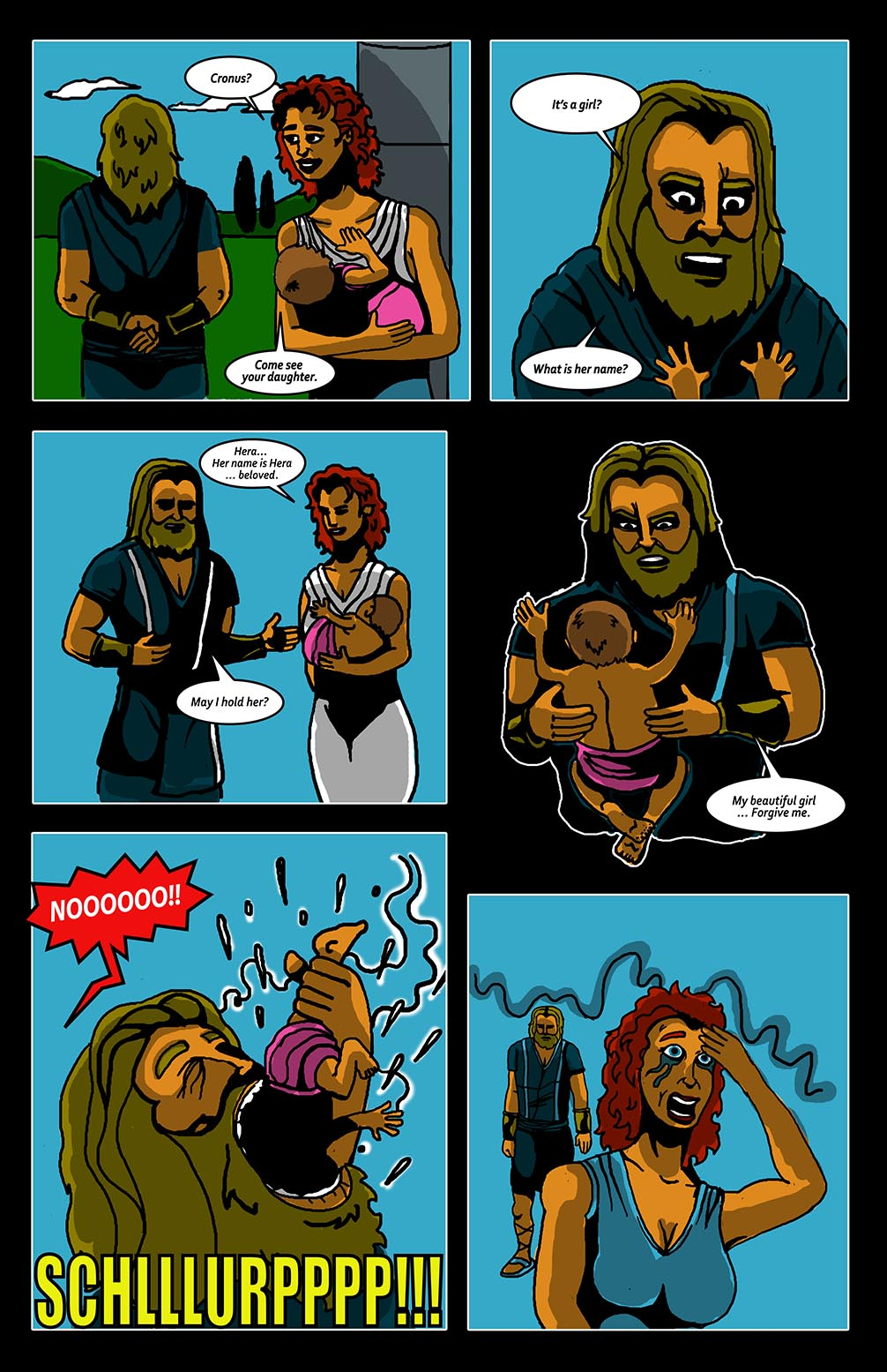 Hellenistic Mysteries #2 Page 7