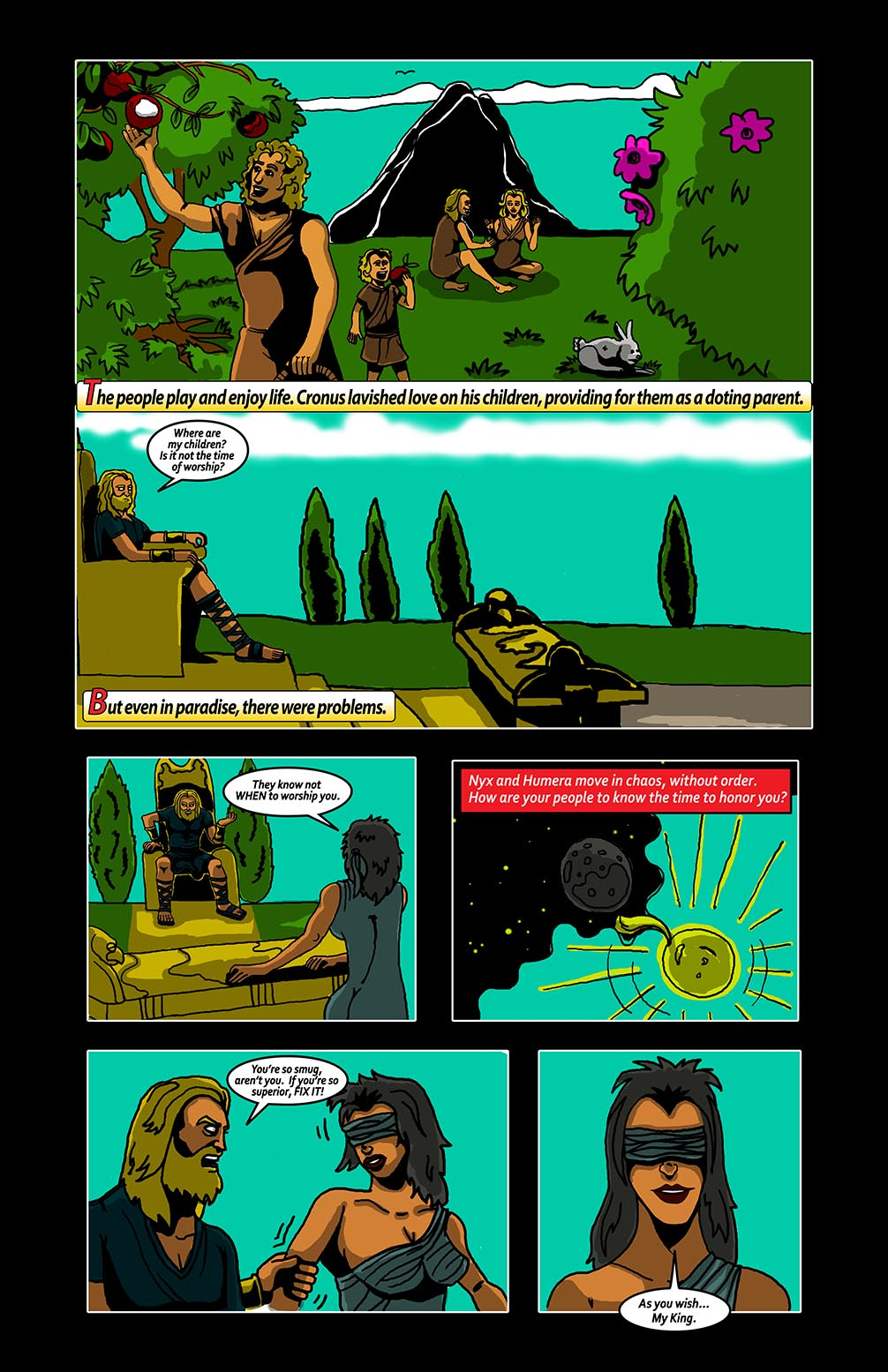 Hellenistic Mysteries #2 Page 10