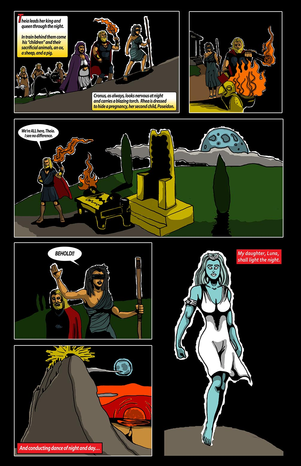 Hellenistic Mysteries #2 Page 11