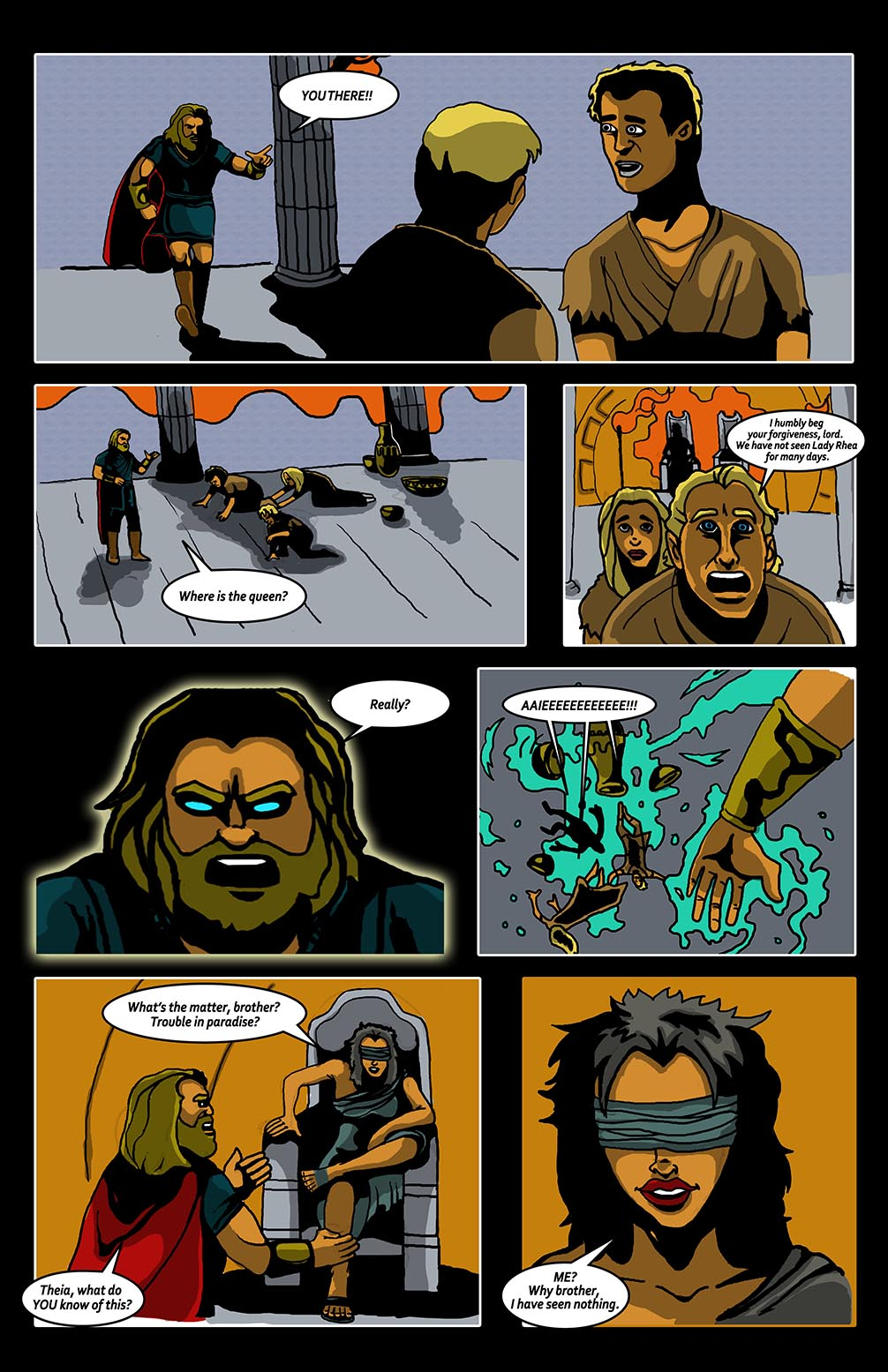 Hellenistic Mysteries #2 Page 14