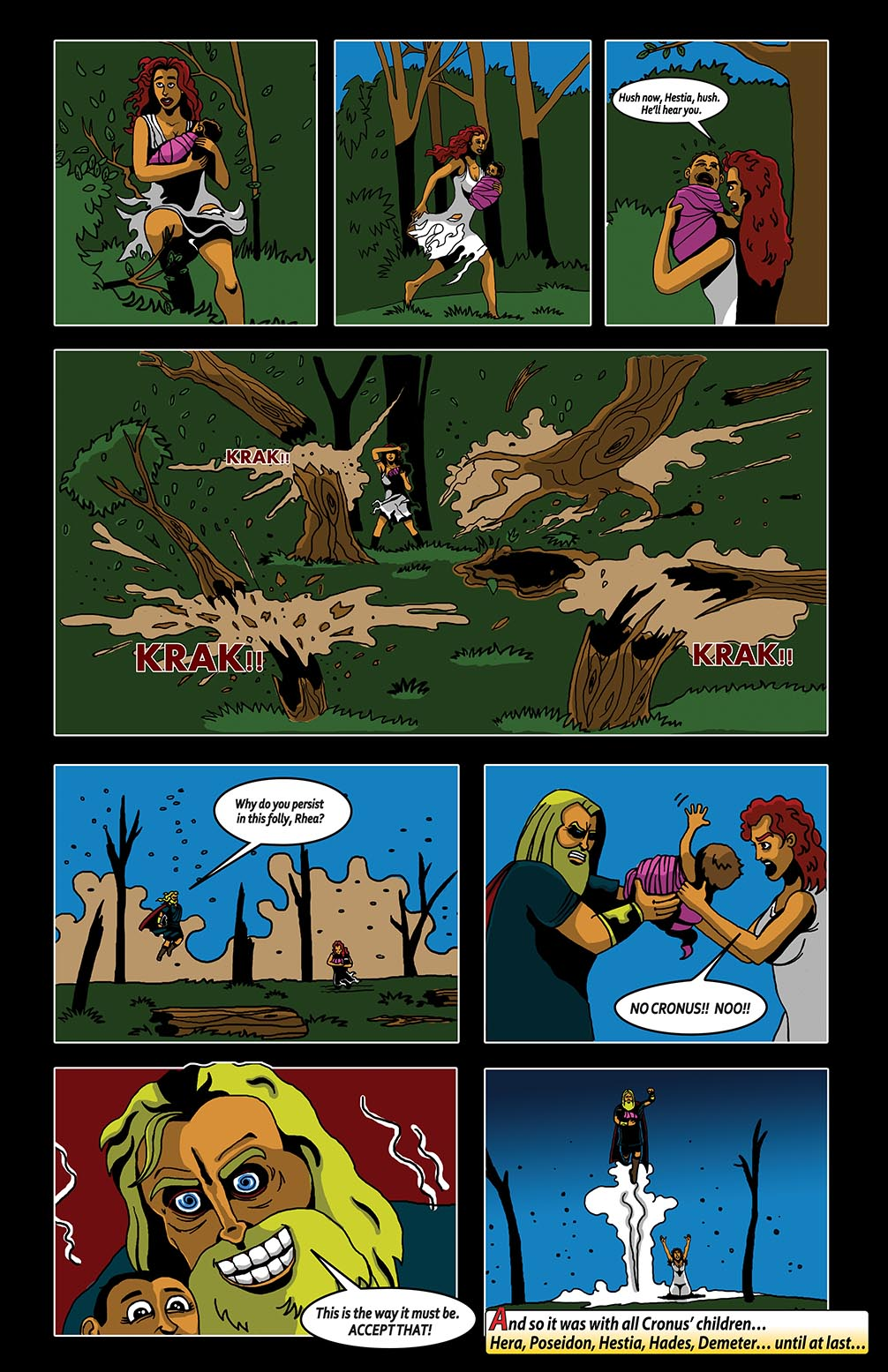 Hellenistic Mysteries #2 Page 16