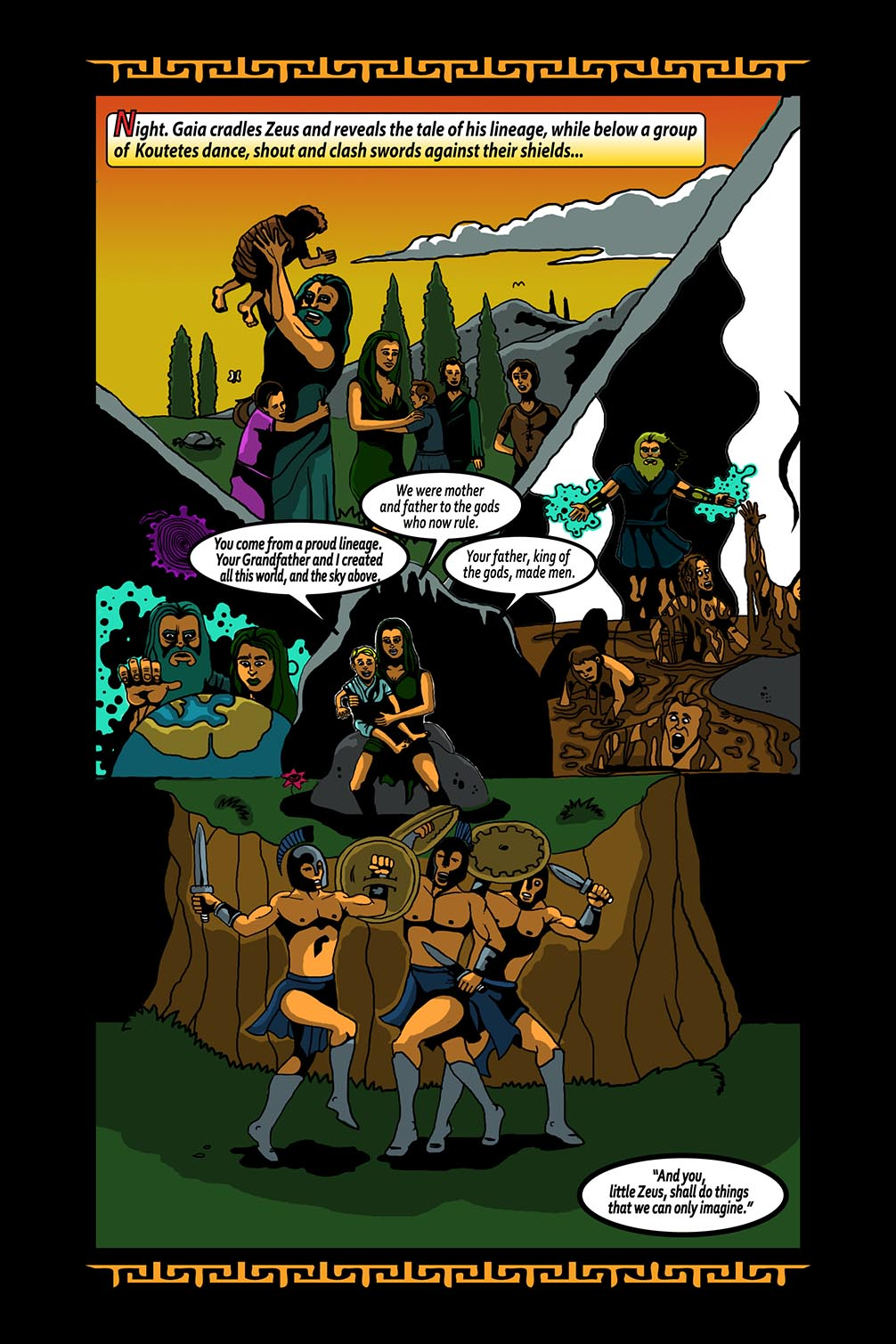 Hellenistic Mysteries #3 Page 1