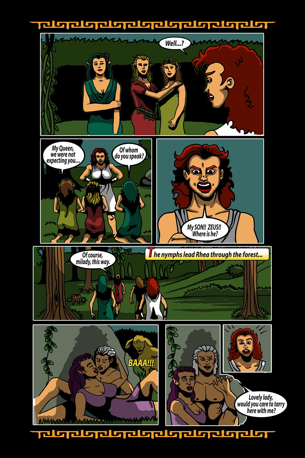Hellenistic Mysteries #3 Page 5