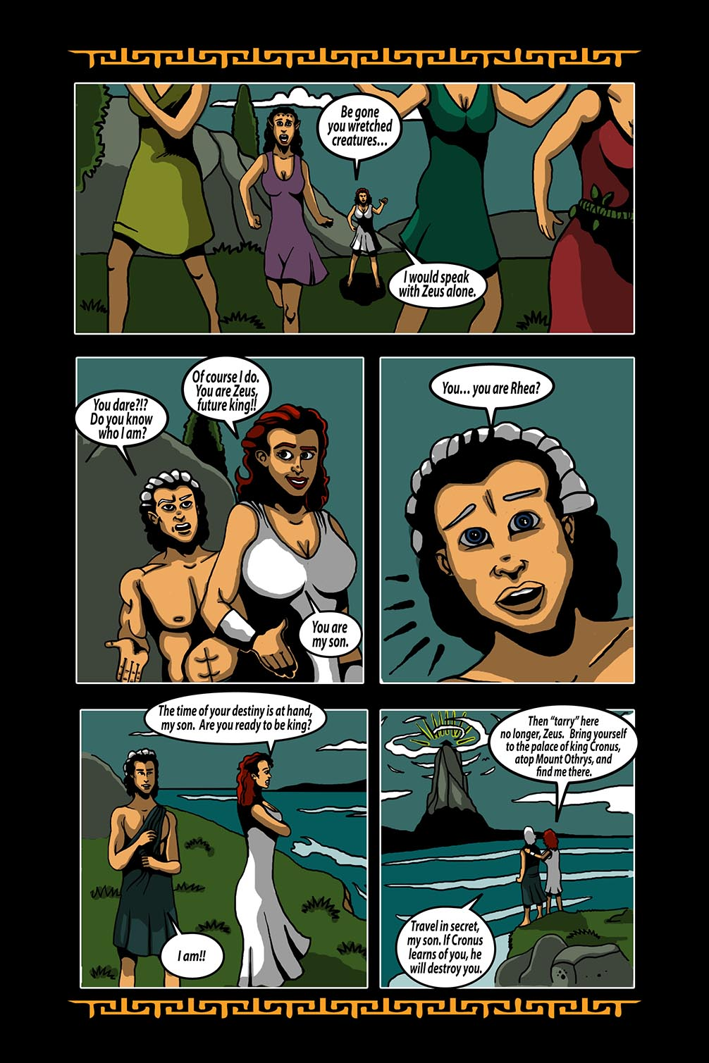 Hellenistic Mysteries #3 Page 6