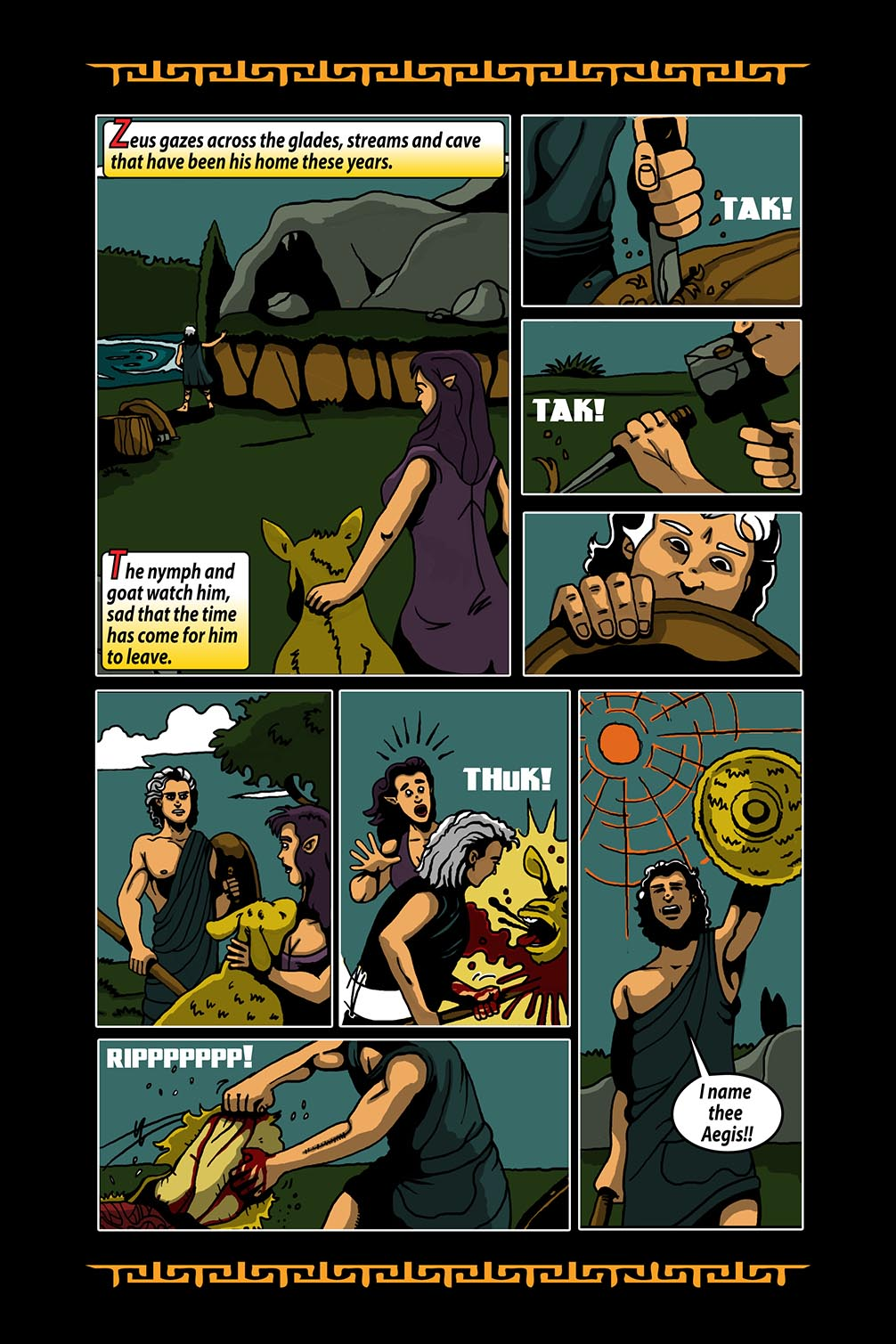 Hellenistic Mysteries #3 Page 7