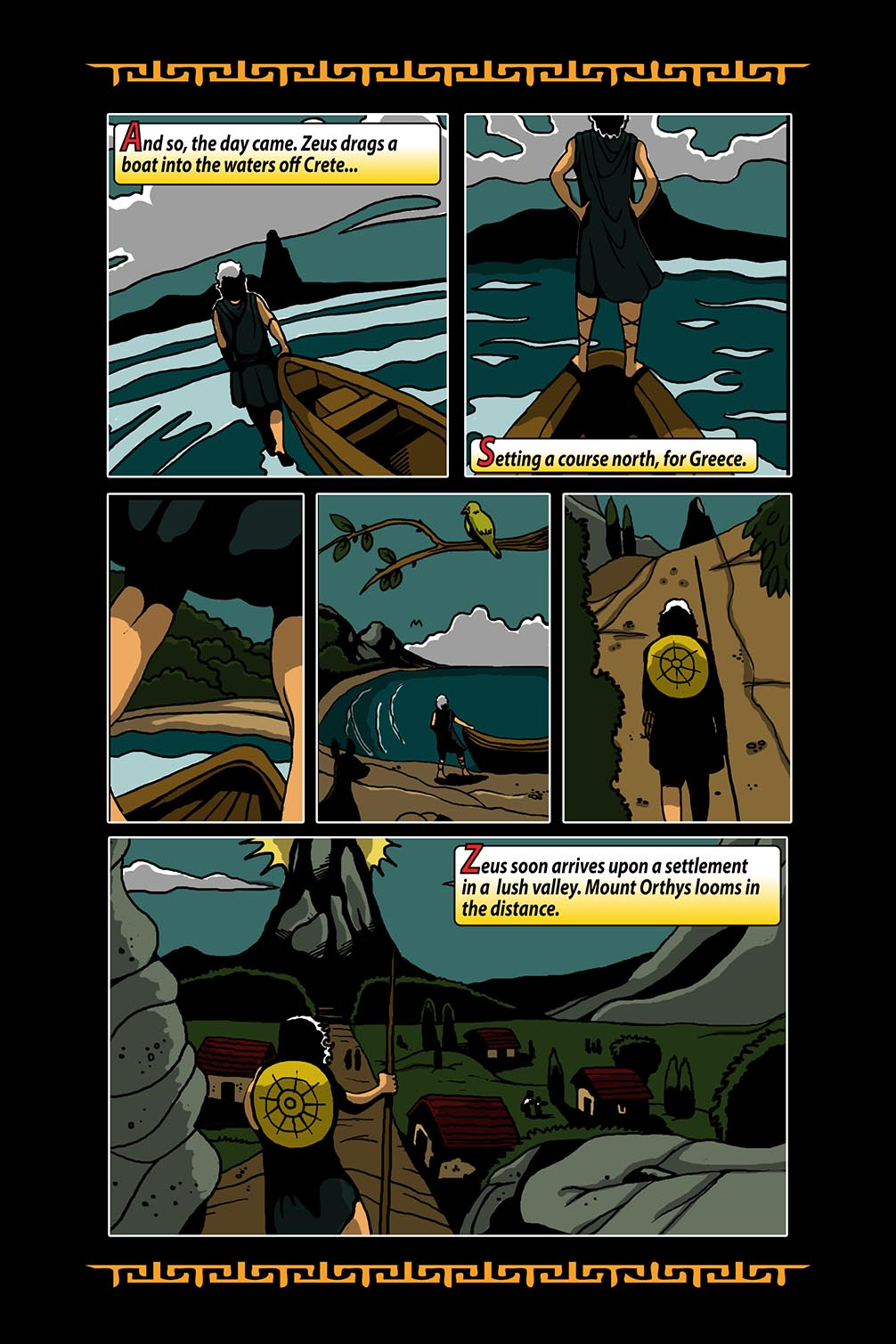 Hellenistic Mysteries #3 Page 8