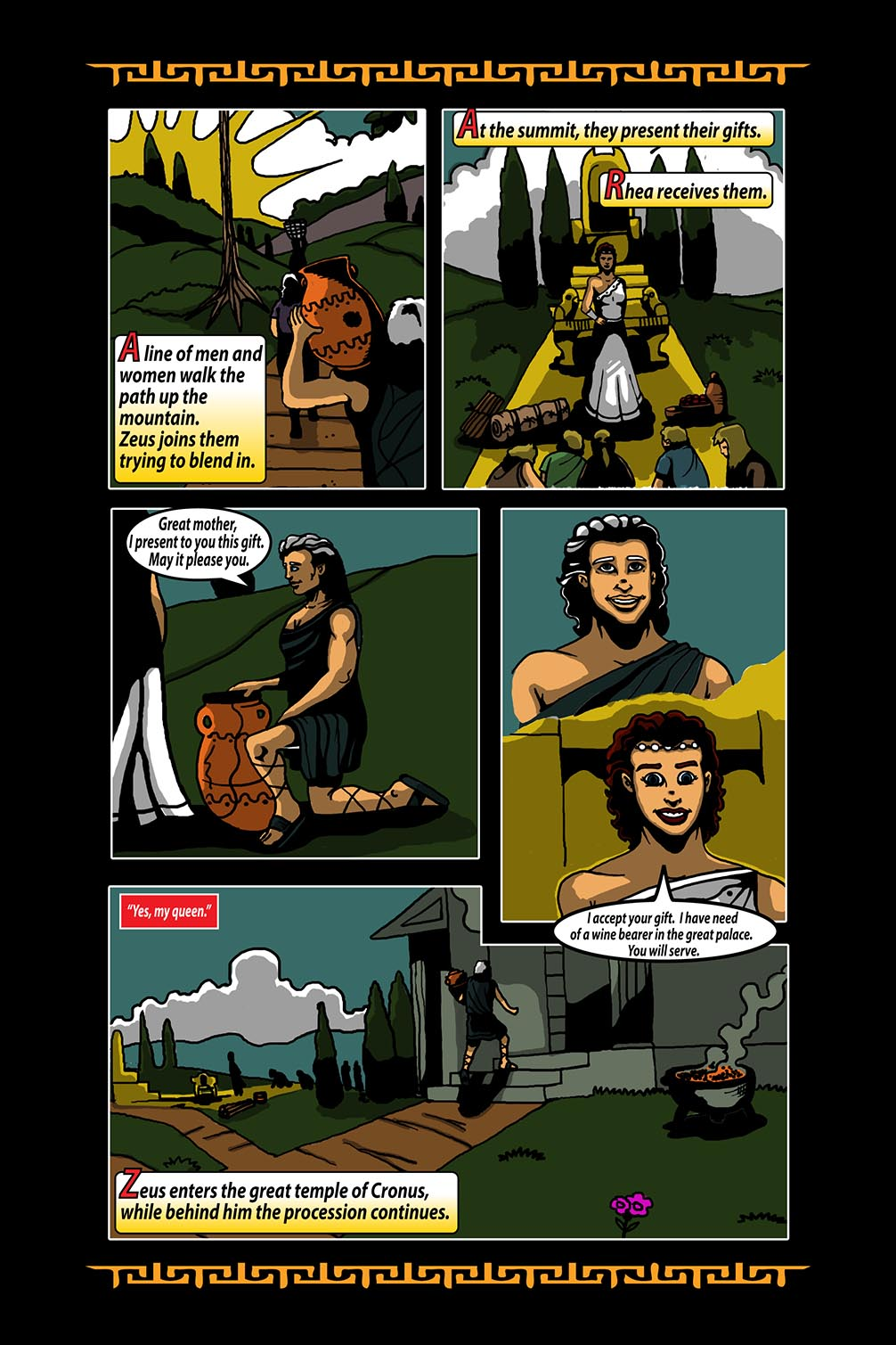 Hellenistic Mysteries #3 Page 10