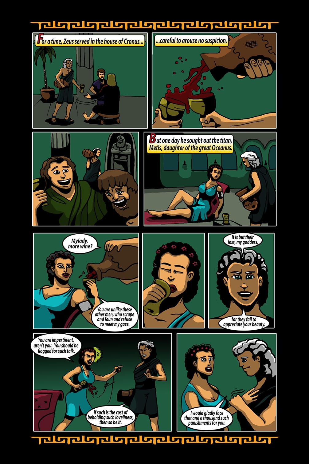 Hellenistic Mysteries #3 Page 11
