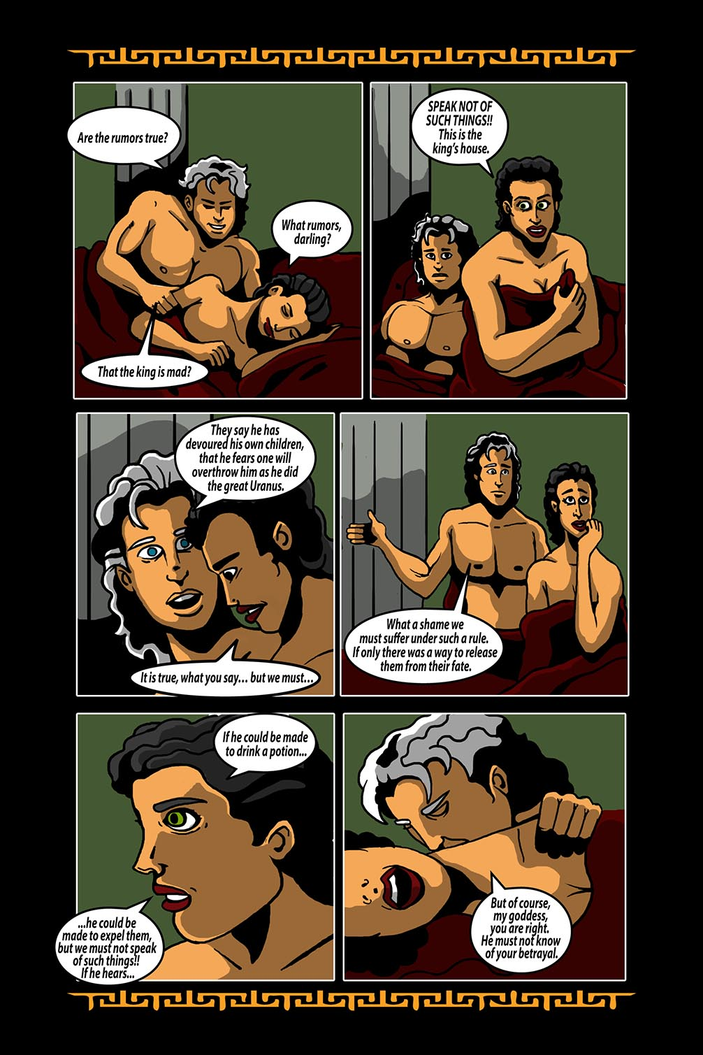 Hellenistic Mysteries #3 Page 12