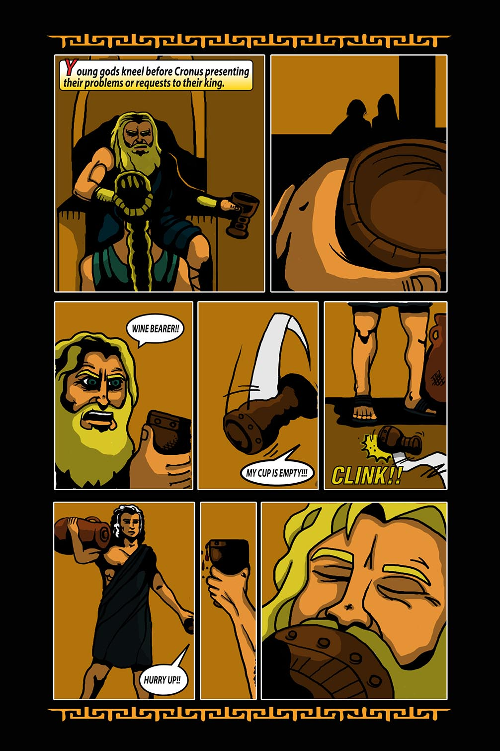 Hellenistic Mysteries #3 Page 14