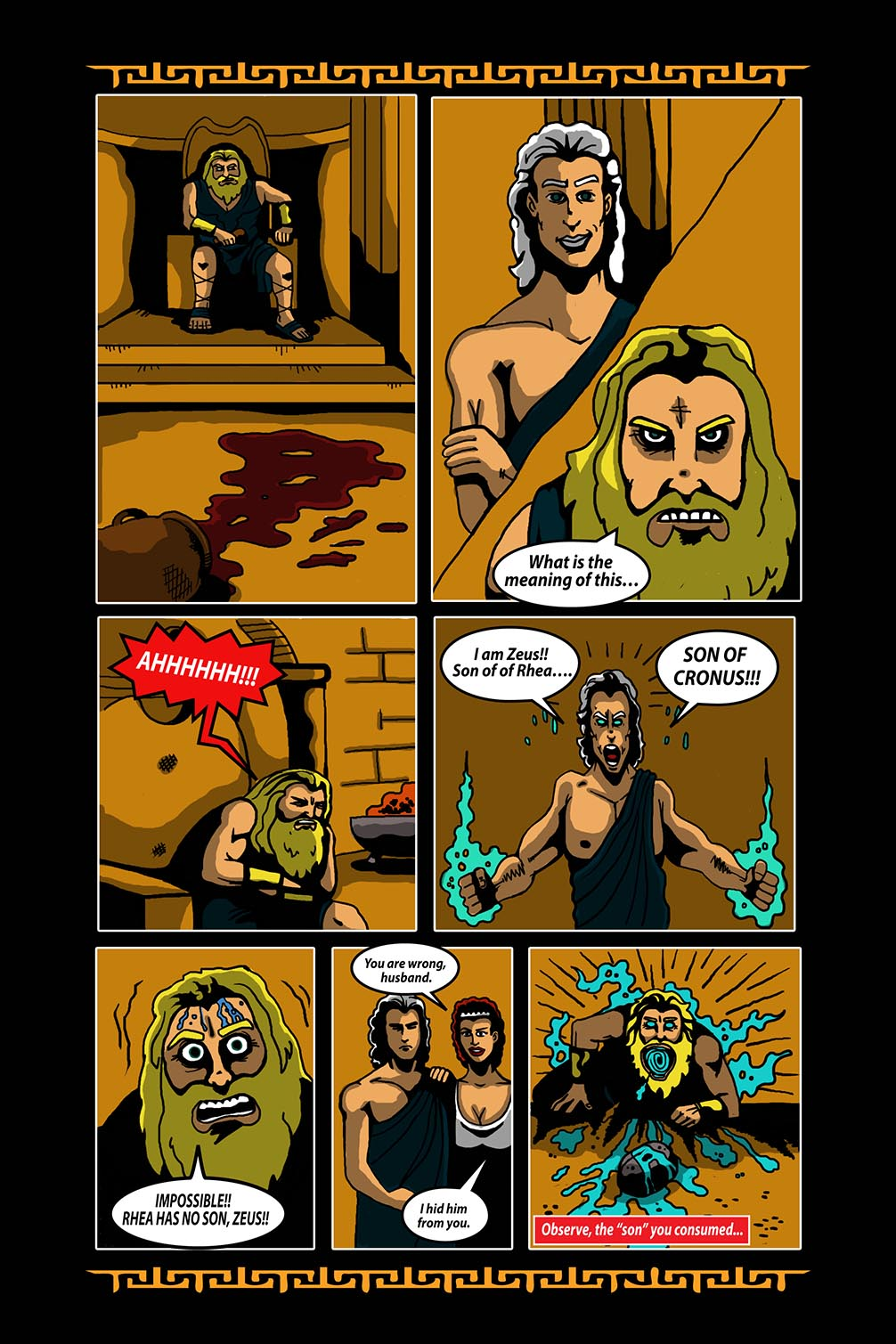 Hellenistic Mysteries #3 Page 15