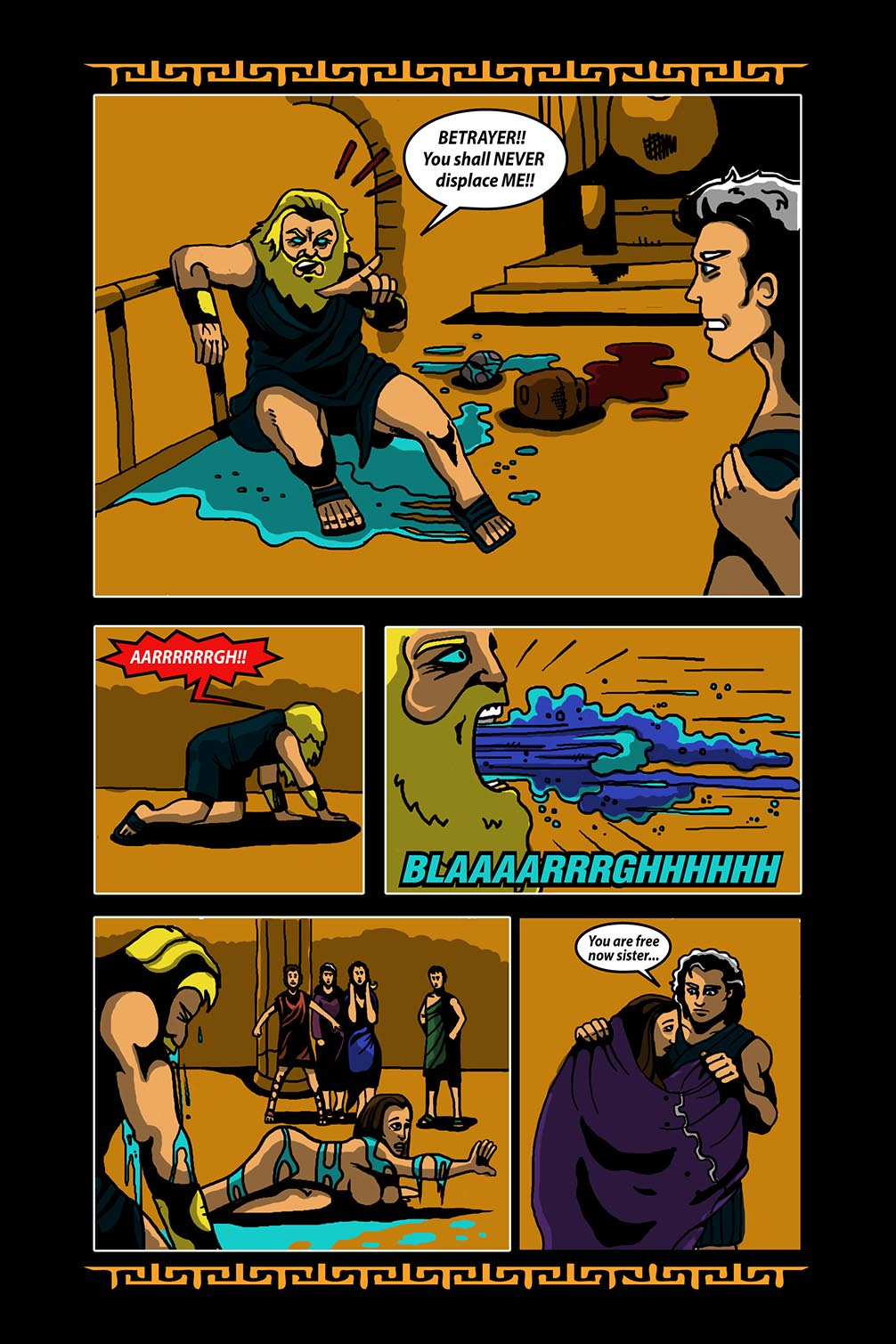 Hellenistic Mysteries #3 Page 16