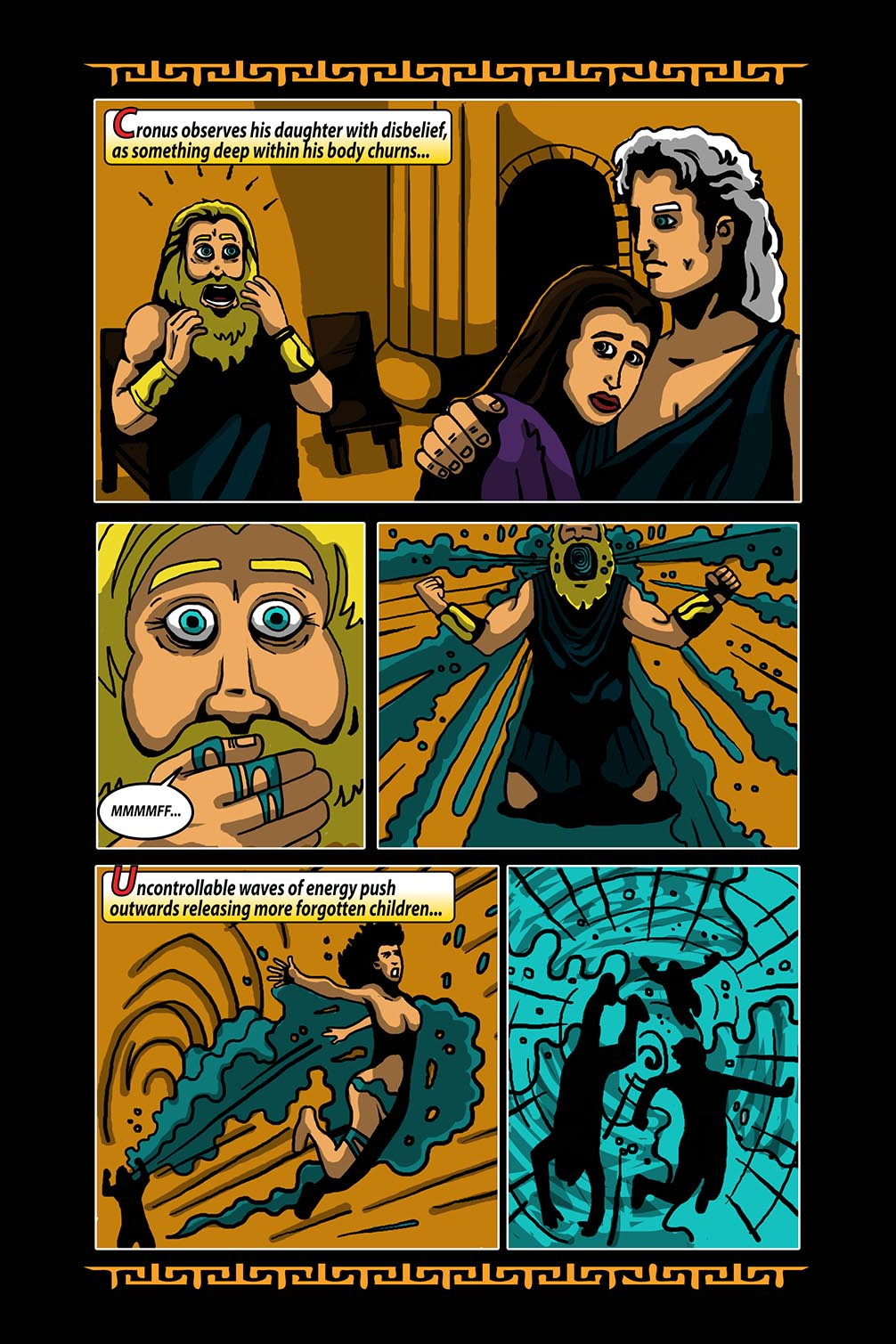 Hellenistic Mysteries #3 Page 17