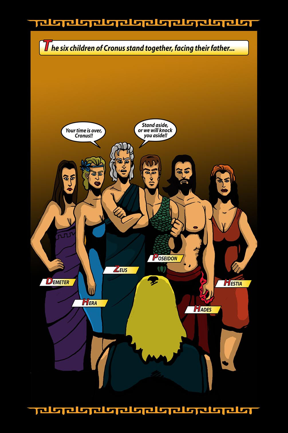 Hellenistic Mysteries #3 Page 18