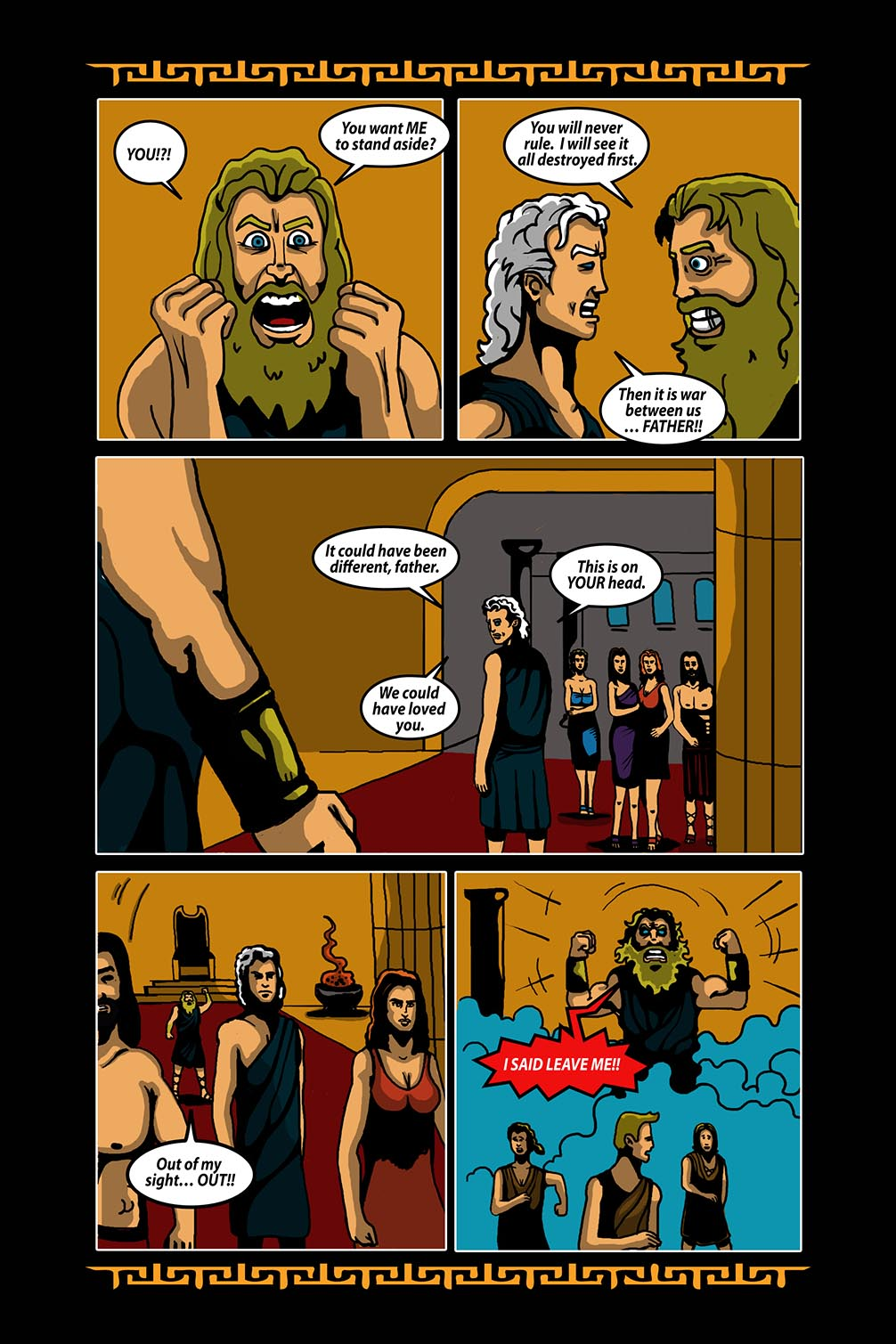 Hellenistic Mysteries #3 Page 19