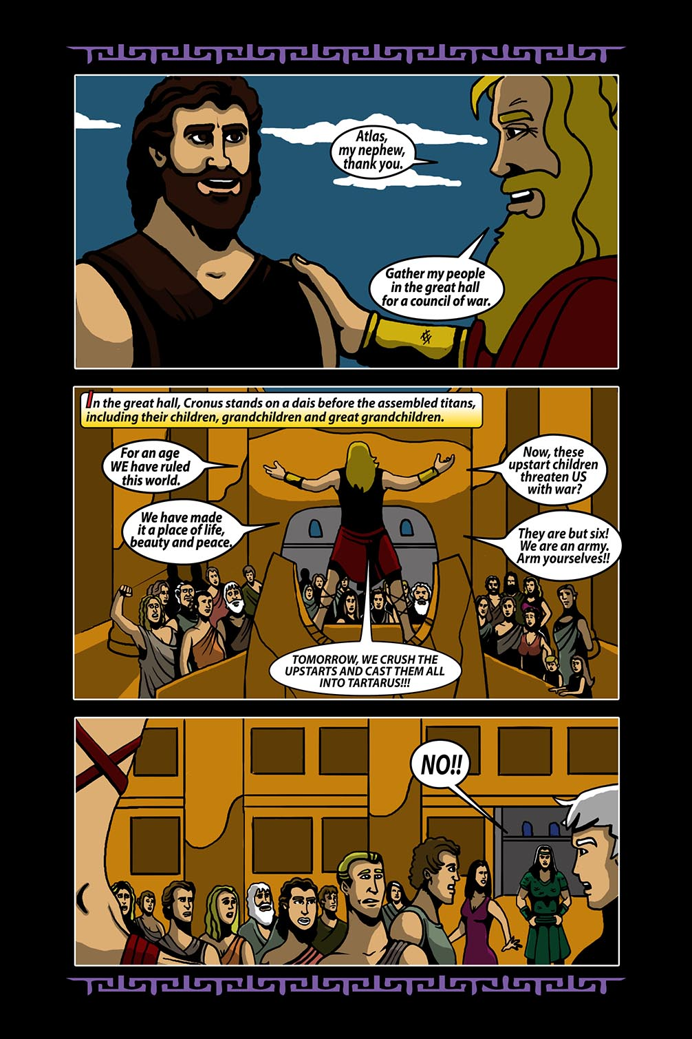 Hellenistic Mysteries #4 Page 5