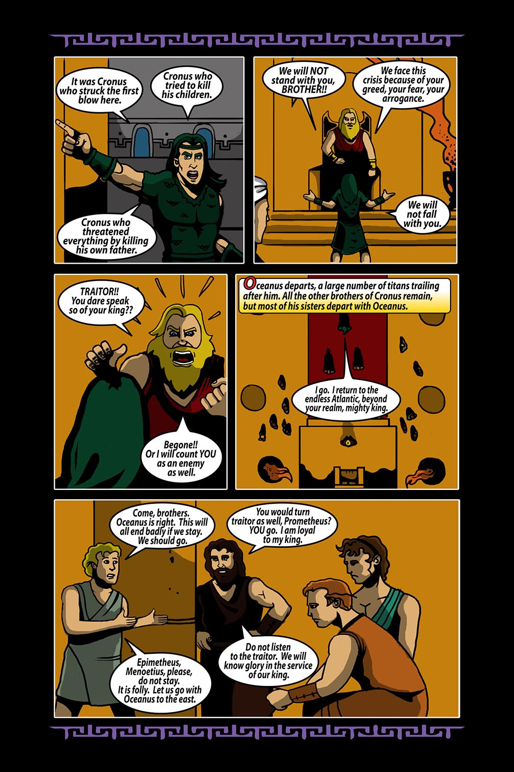 Hellenistic Mysteries #4 Page 6