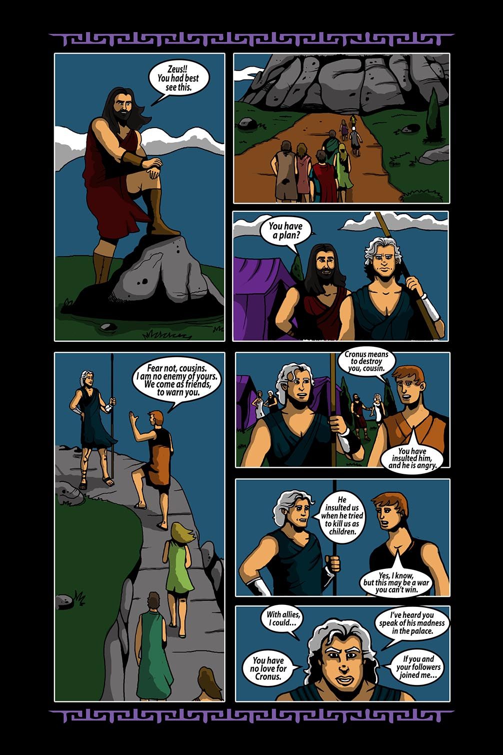 Hellenistic Mysteries #4 Page 8