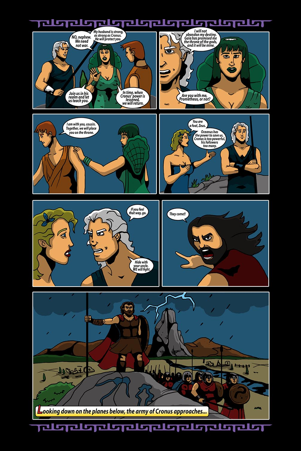 Hellenistic Mysteries #4 Page 9