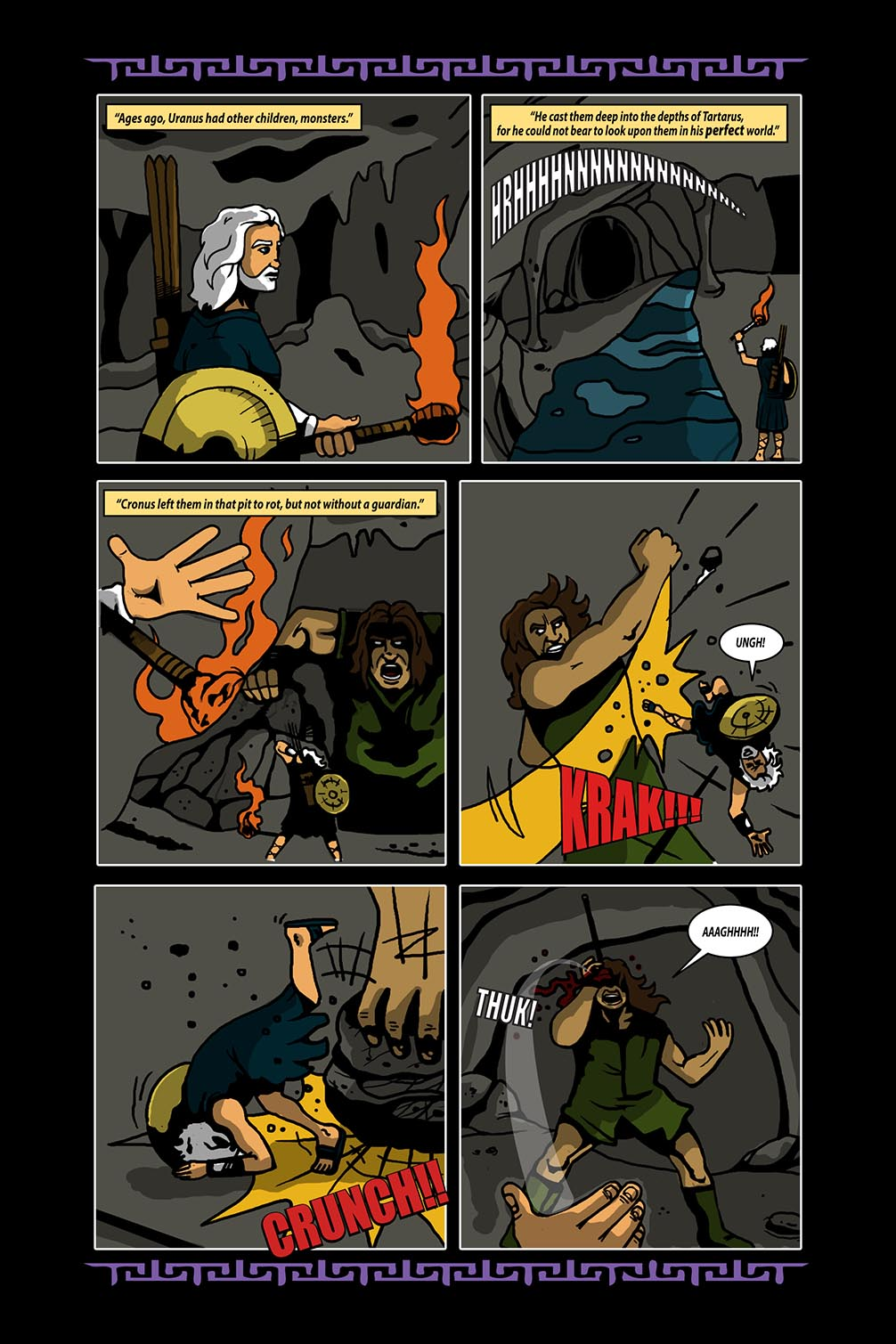Hellenistic Mysteries #4 Page 12