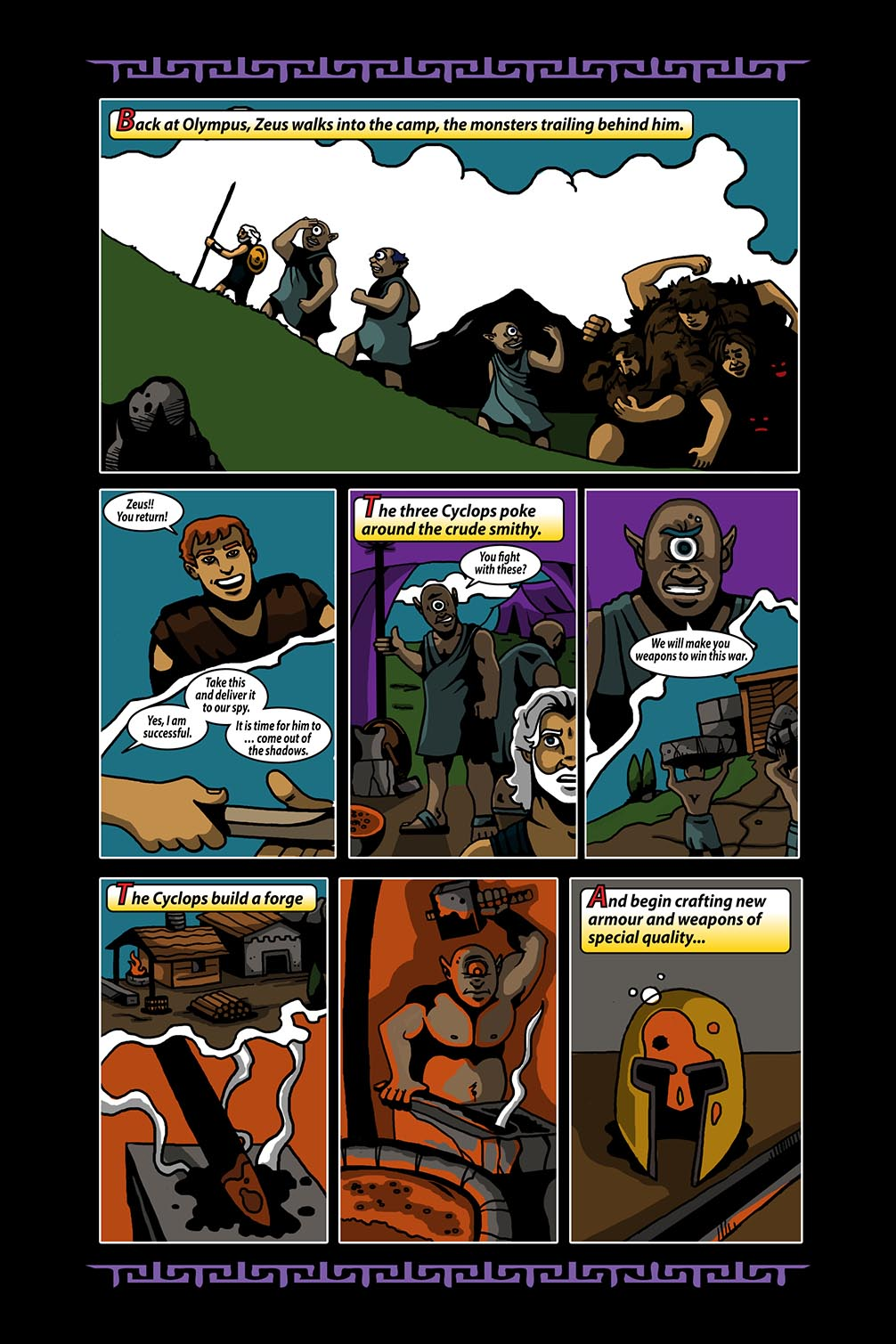 Hellenistic Mysteries #4 Page 14