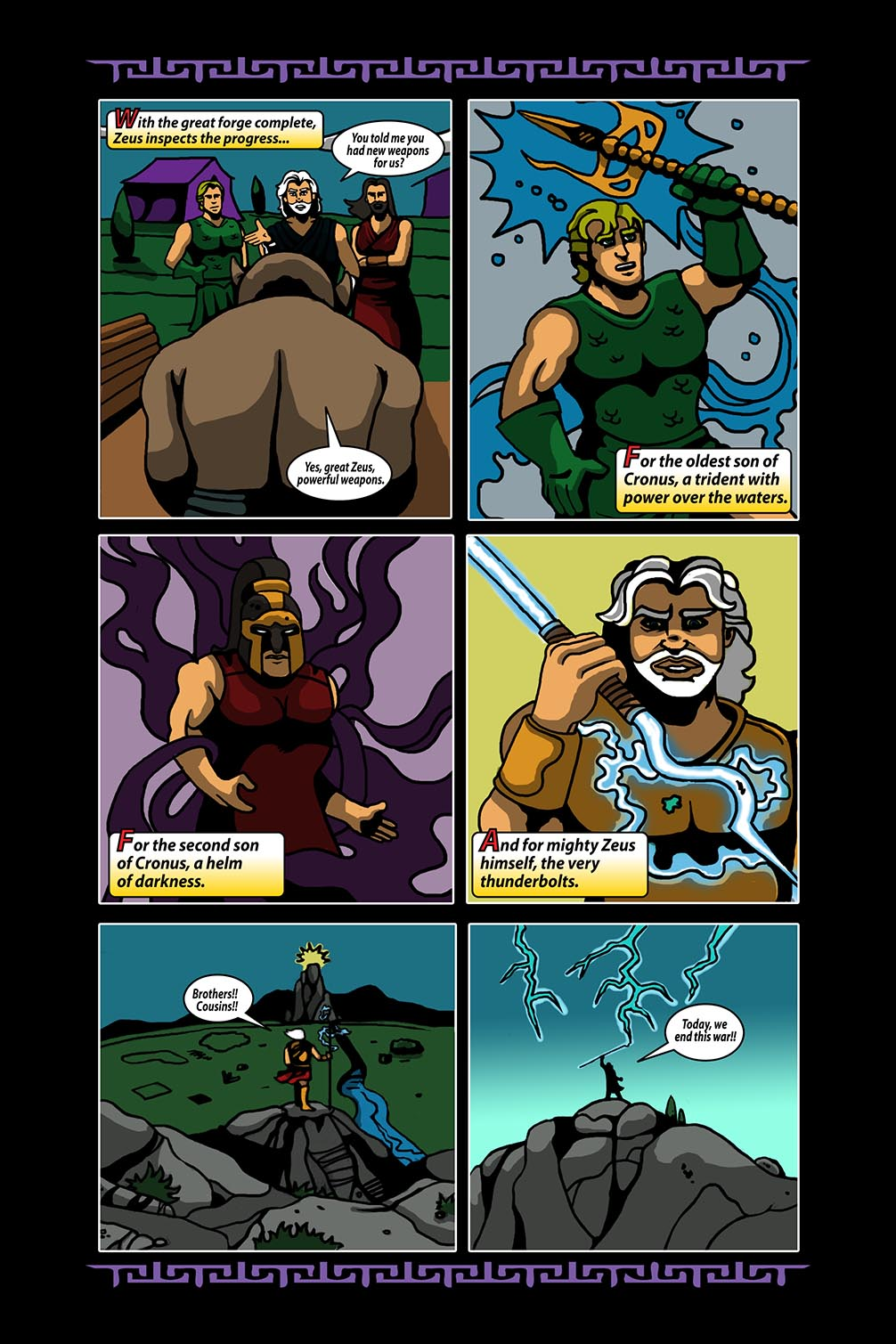 Hellenistic Mysteries #4 Page 15