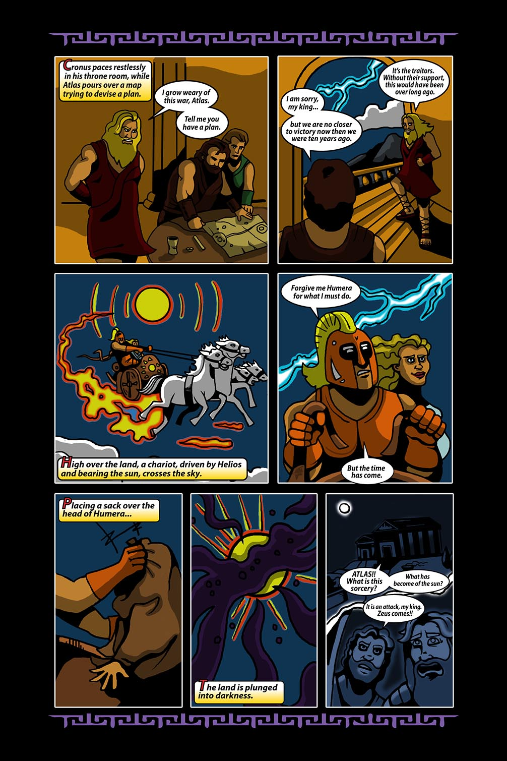 Hellenistic Mysteries #4 Page 16