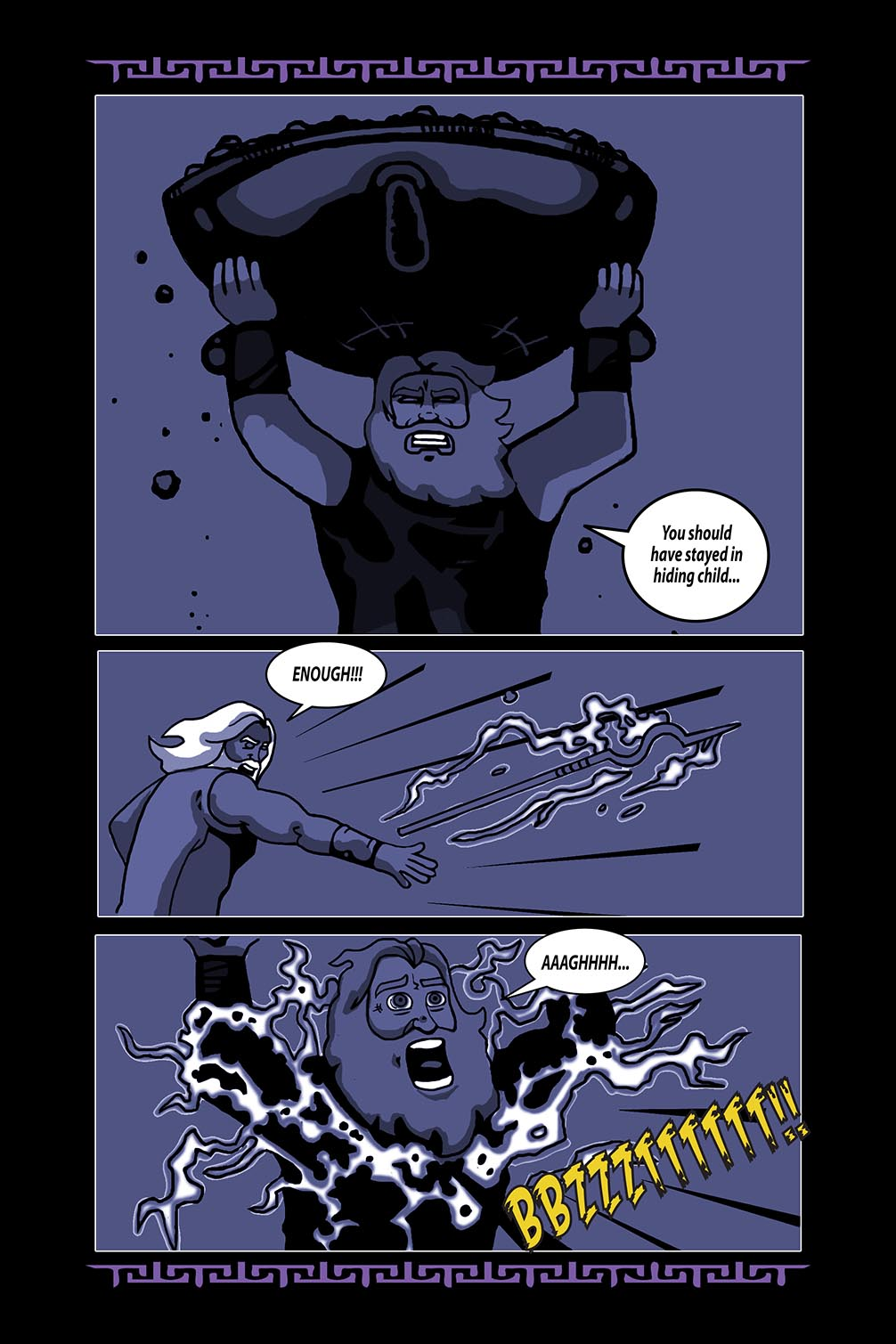 Hellenistic Mysteries #4 Page 20