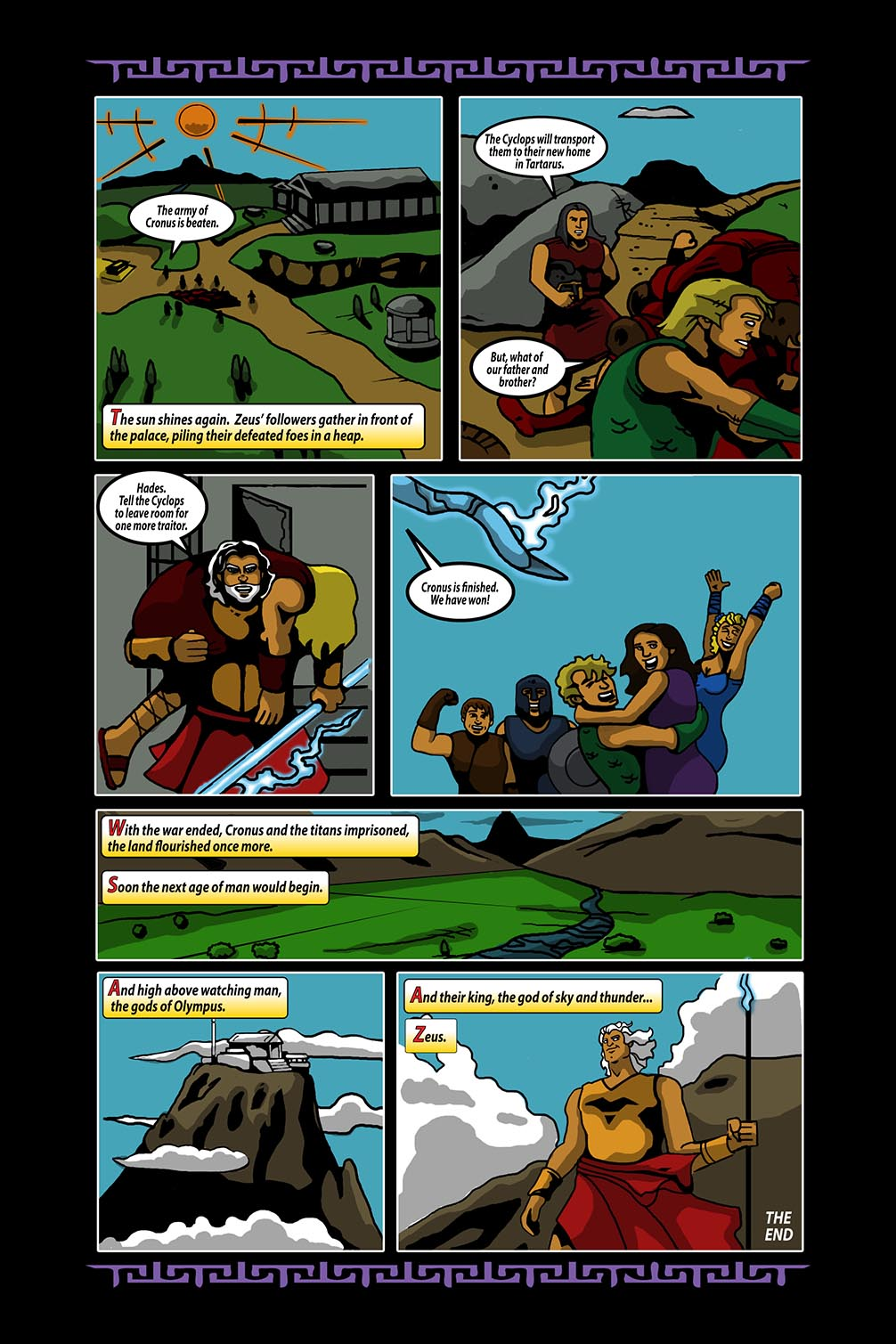 Hellenistic Mysteries #4 Page 21