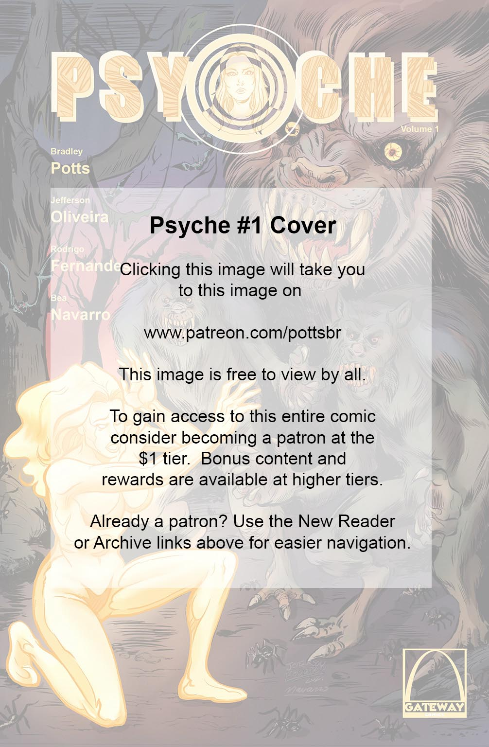Psyche #1 Cover