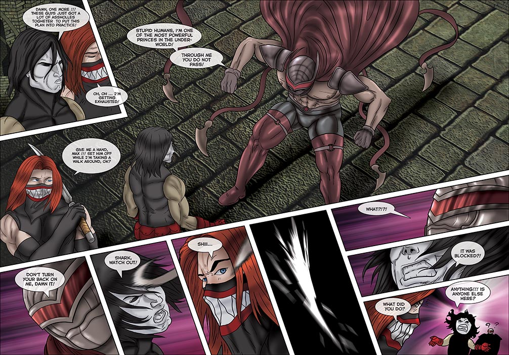 Enemus #4 Pages 10 and 11