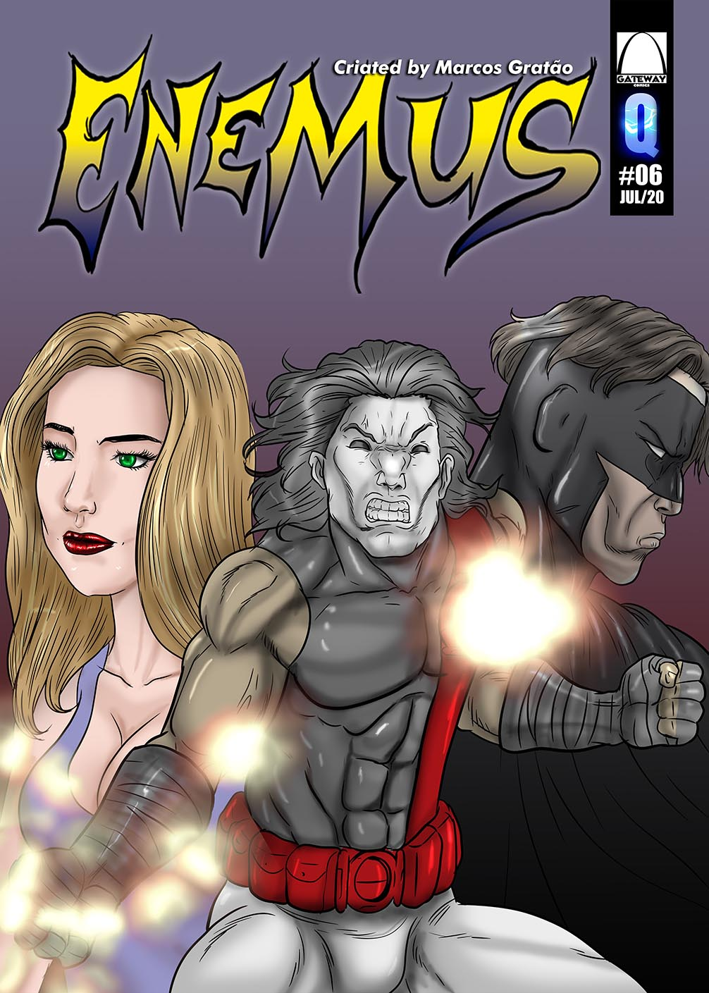 Enemus #5 Cover