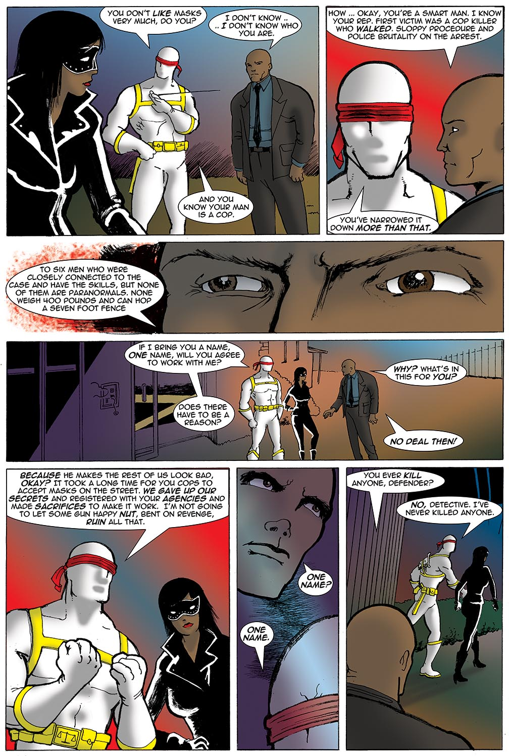 Gateway Legends #1 (2012) Page 5