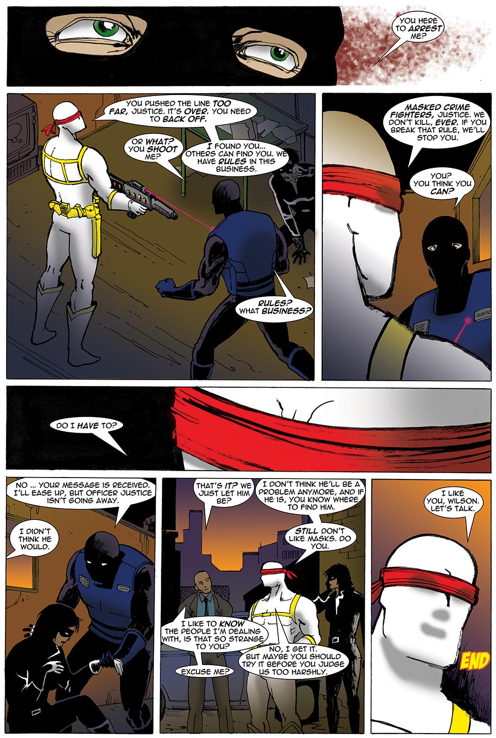 Gateway Legends #1 (2012) Page 10