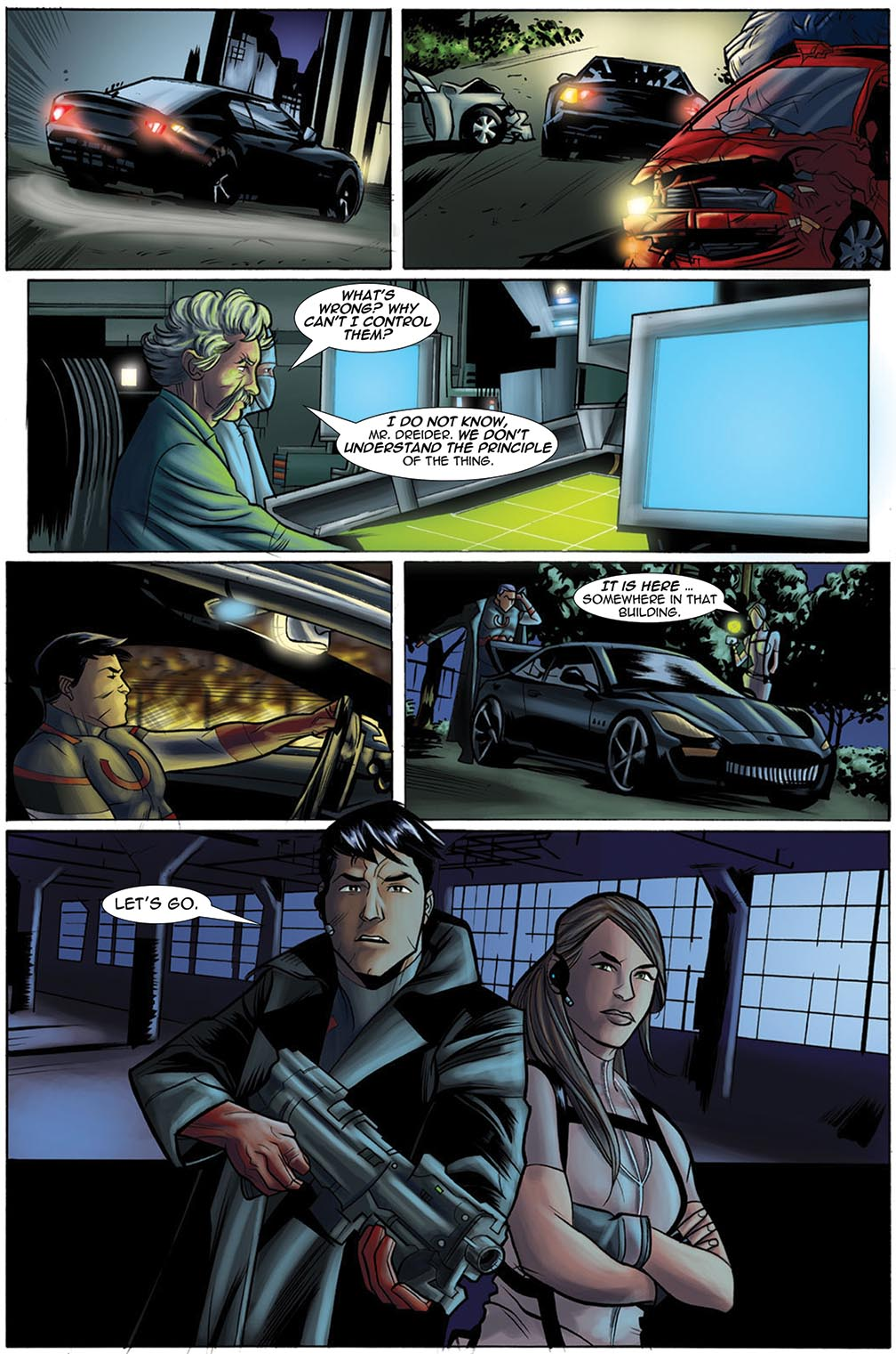 Gateway Legends #1 (2012) Page 18